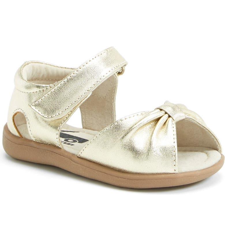 See Kai Run  Avianna  Leather Sandal (Walker   Toddler)  0ae38a14af75