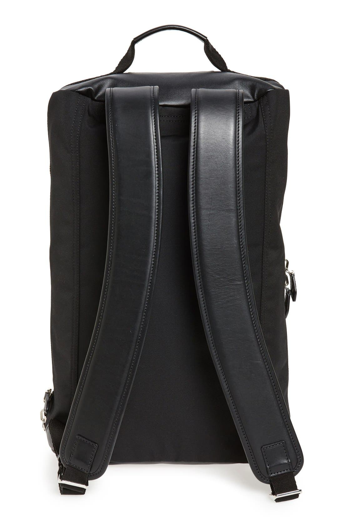 Coated Rubber Backpack,                             Alternate thumbnail 5, color,                             001