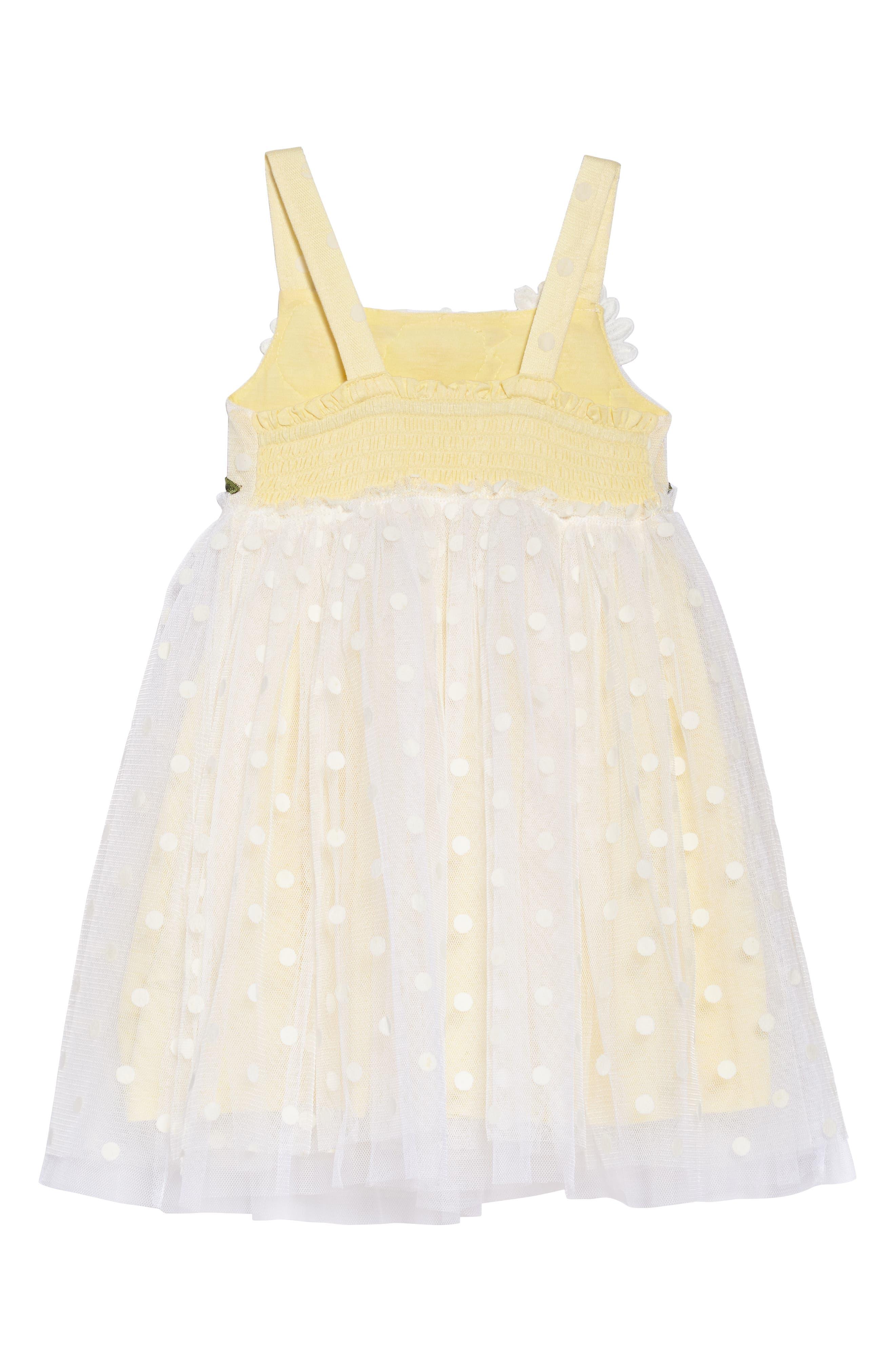 Polka Dot Dress,                             Alternate thumbnail 4, color,                             183