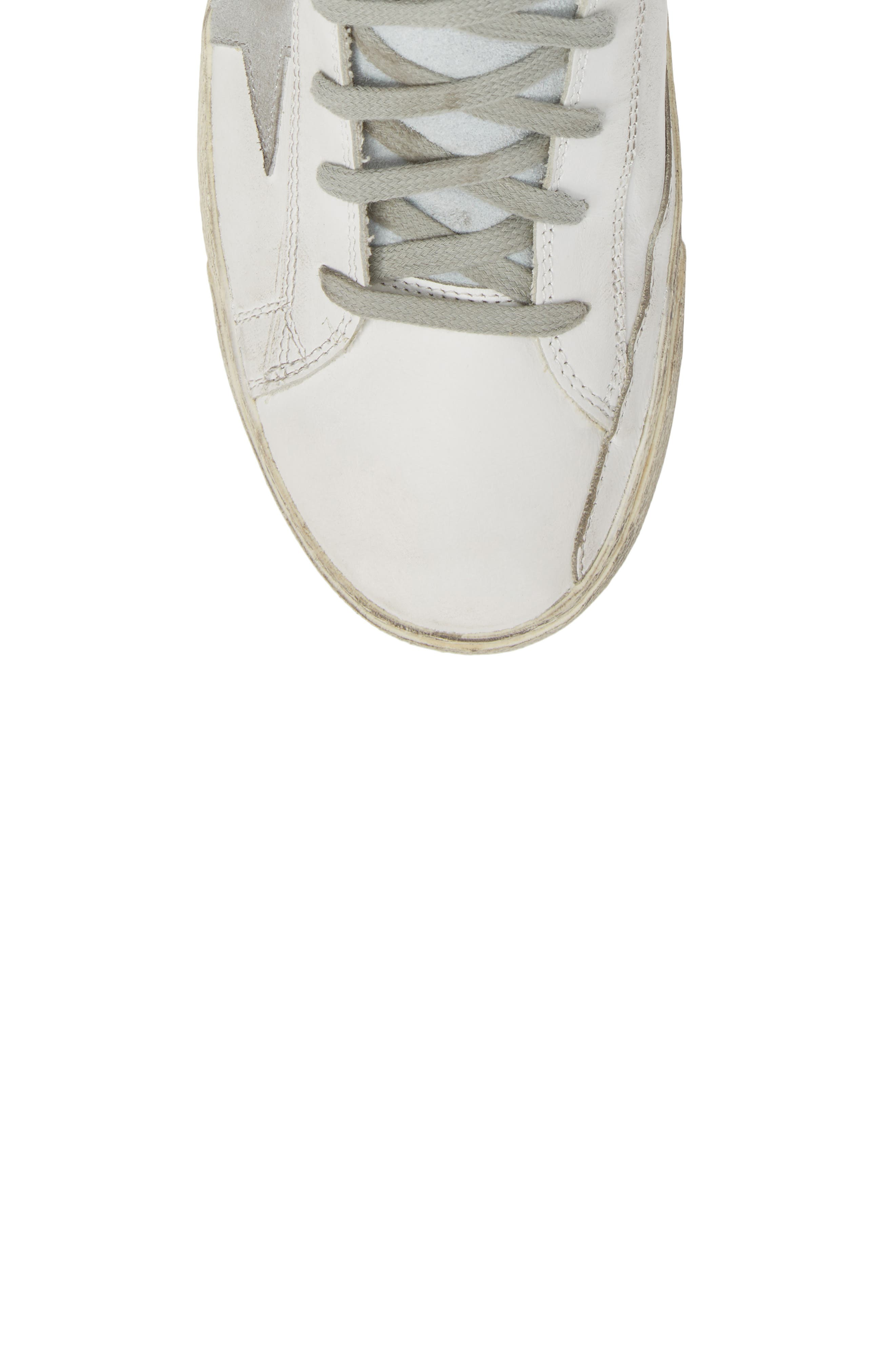 Francy High Top Sneaker,                             Alternate thumbnail 5, color,                             100