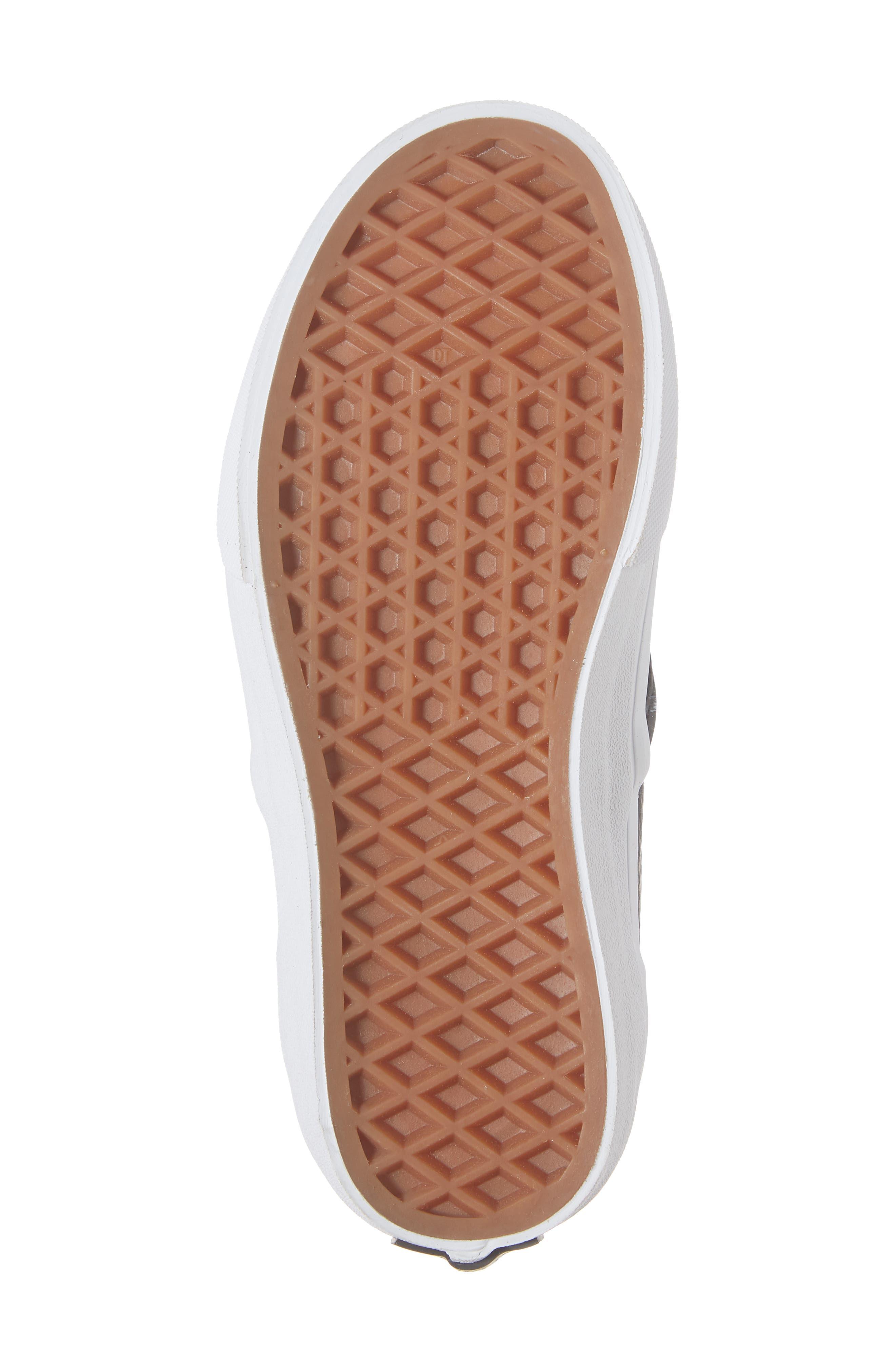 Era - Hi Sneaker,                             Alternate thumbnail 6, color,                             SUEDE AND PLAID BLACK/ WHITE