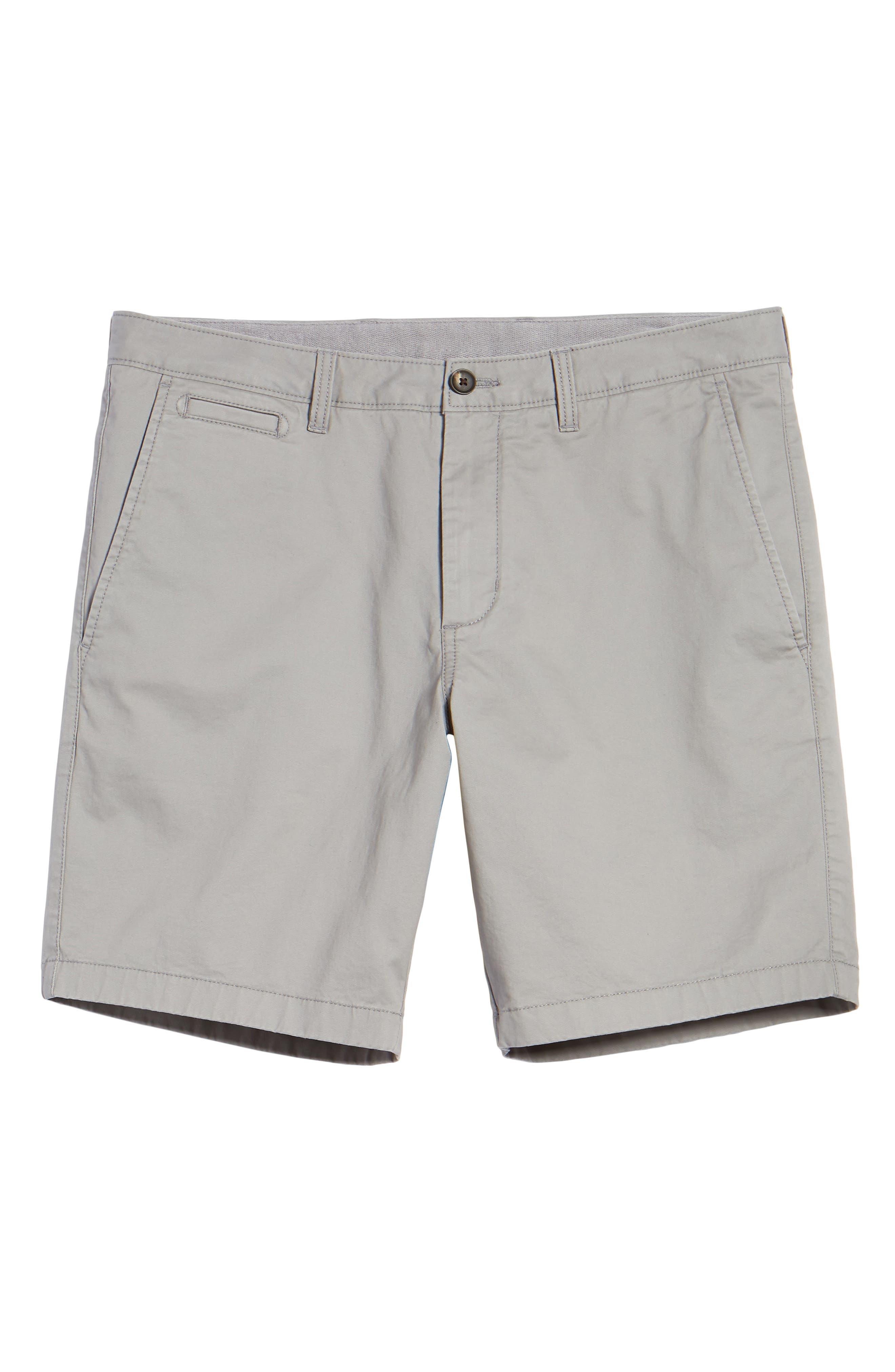 Ballard Slim Fit Stretch Chino 9-Inch Shorts,                             Alternate thumbnail 6, color,                             030