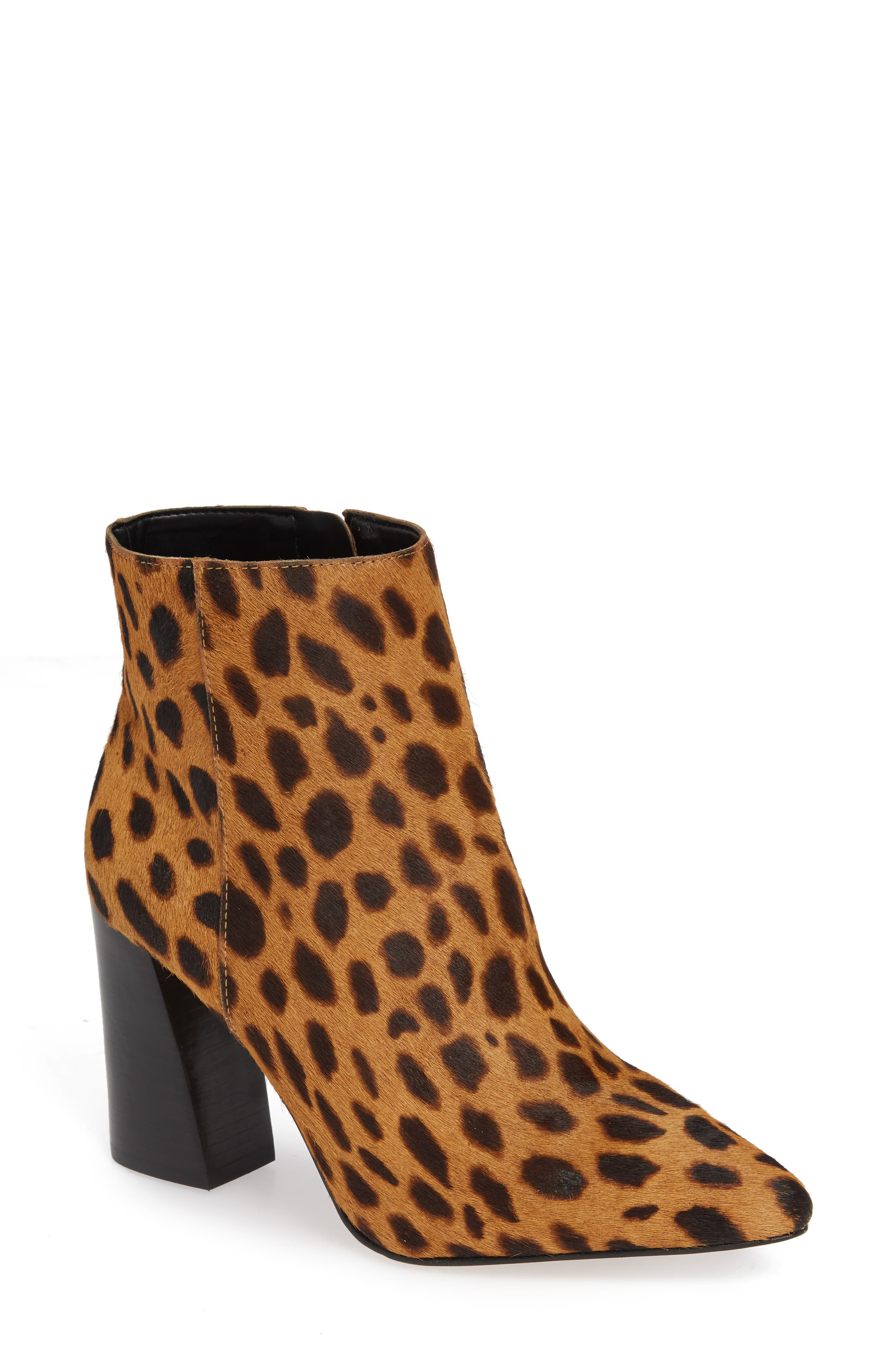 Sale alerts for  Thelmin Genuine Calf Hair Bootie - Covvet