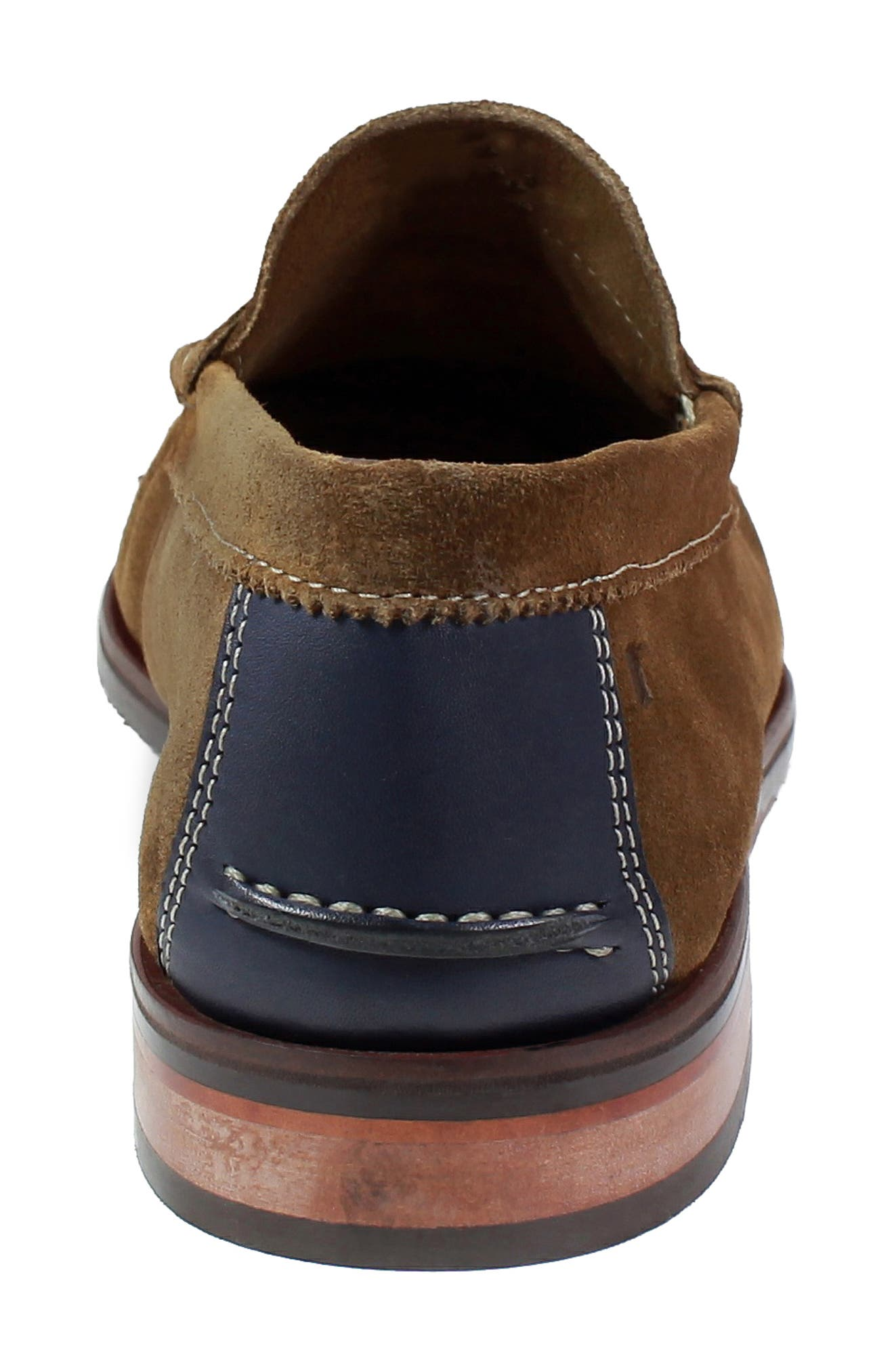 Heads-Up Penny Loafer,                             Alternate thumbnail 7, color,                             SNUFF SUEDE