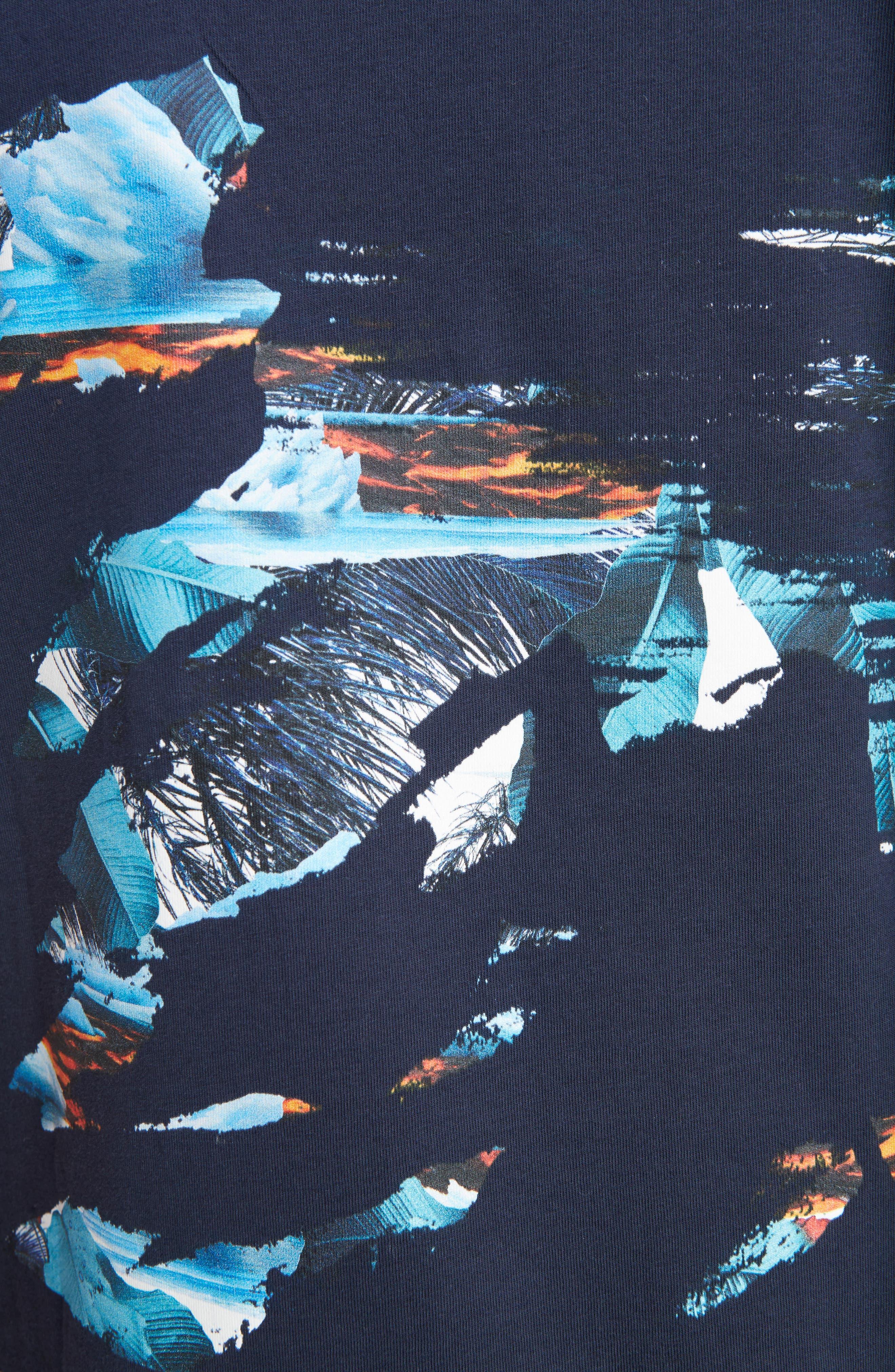 Abstract Landscape T-Shirt,                             Alternate thumbnail 5, color,