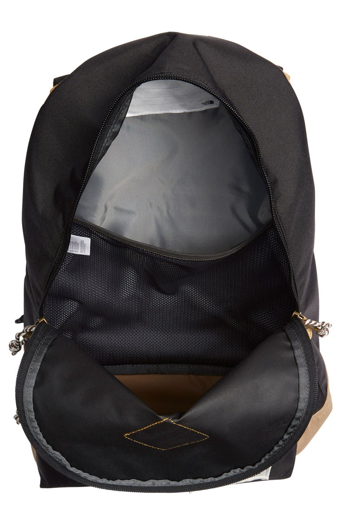 THE NORTH FACE,                             'Mini Berkeley' Backpack,                             Alternate thumbnail 4, color,                             001