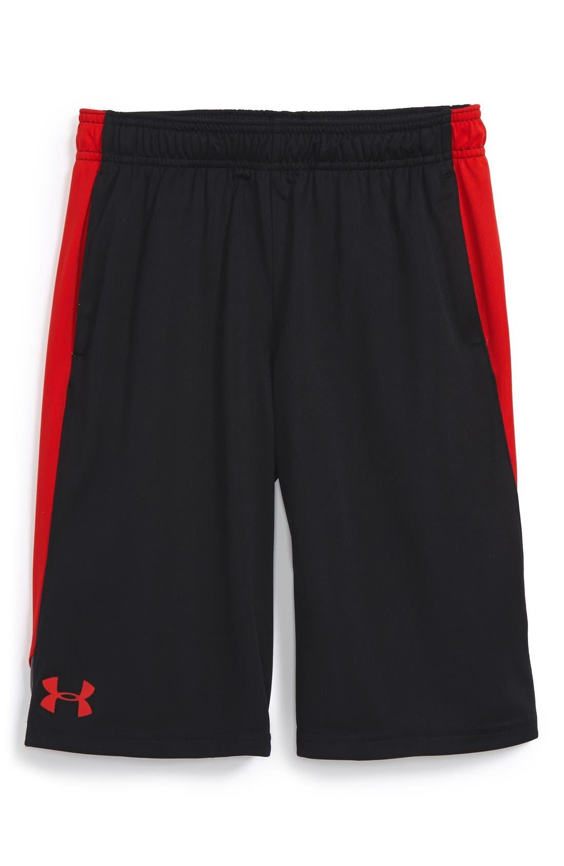'Eliminator' HeatGear<sup>®</sup> Shorts,                         Main,                         color, 001