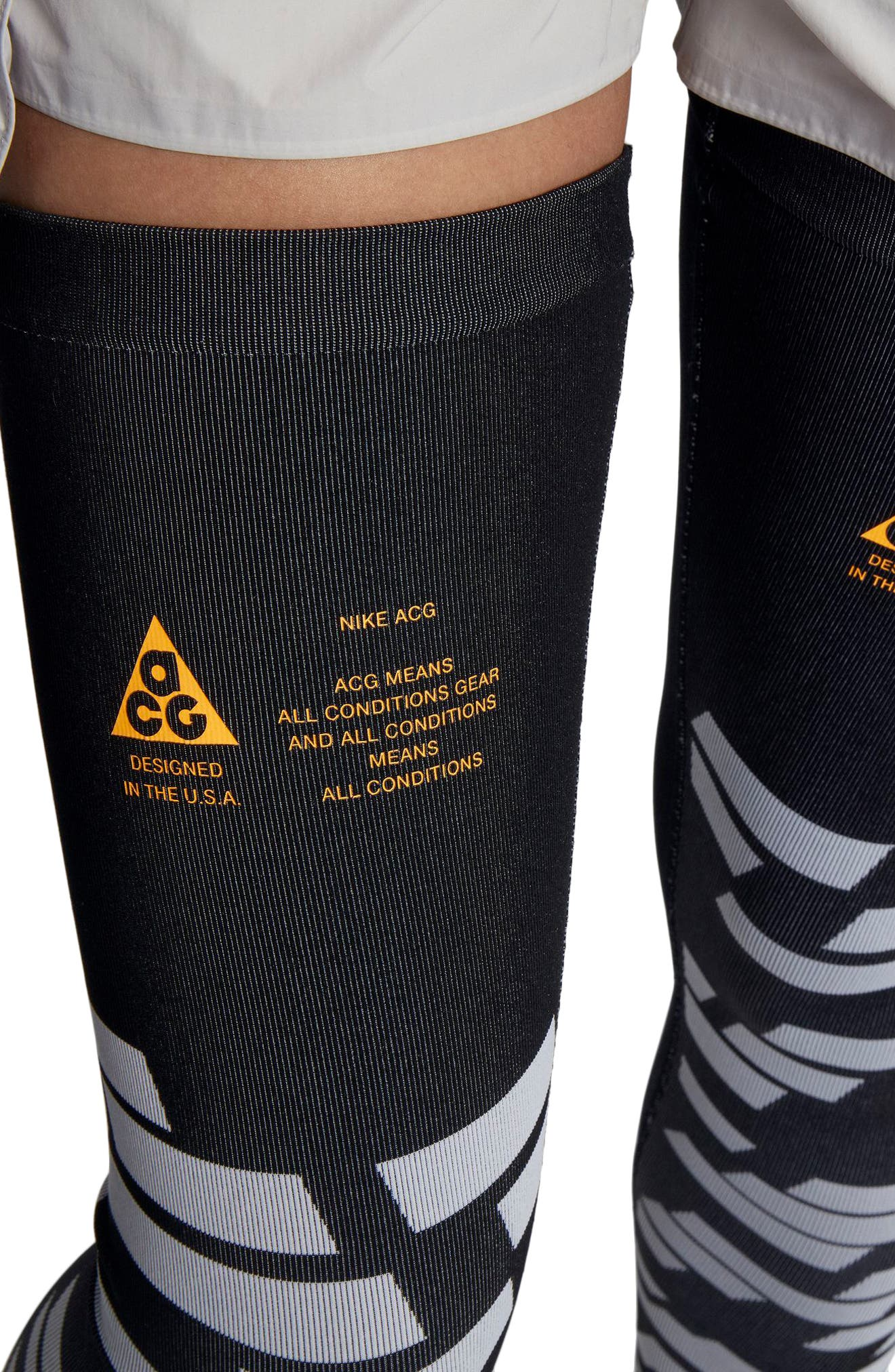 NikeLab ACG Women's Leg Sleeves,                             Alternate thumbnail 8, color,