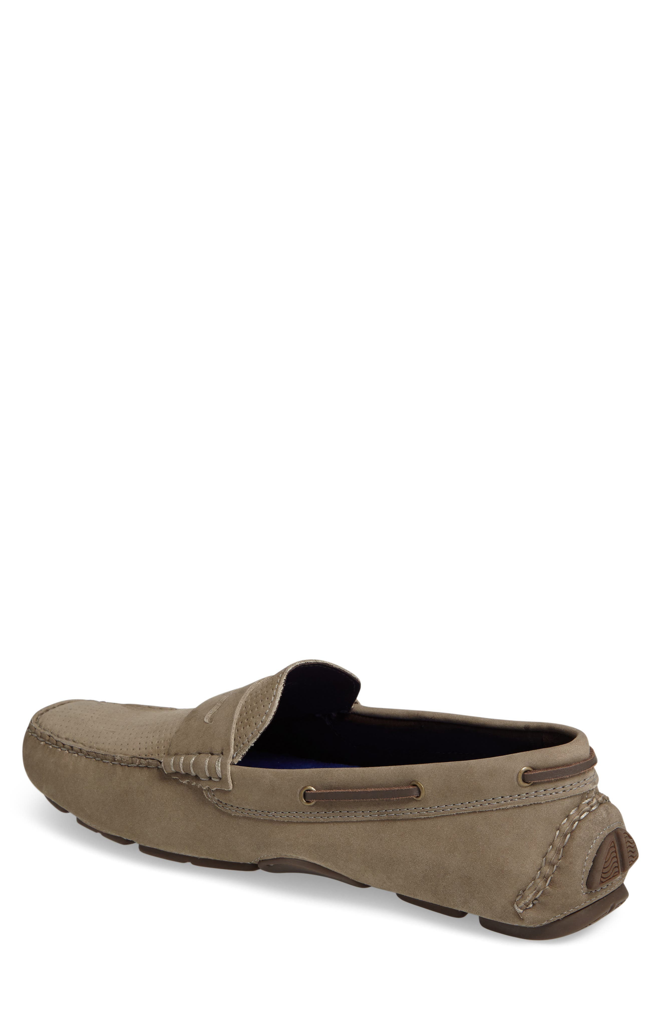 Perforated Driving Loafer,                             Alternate thumbnail 2, color,                             020