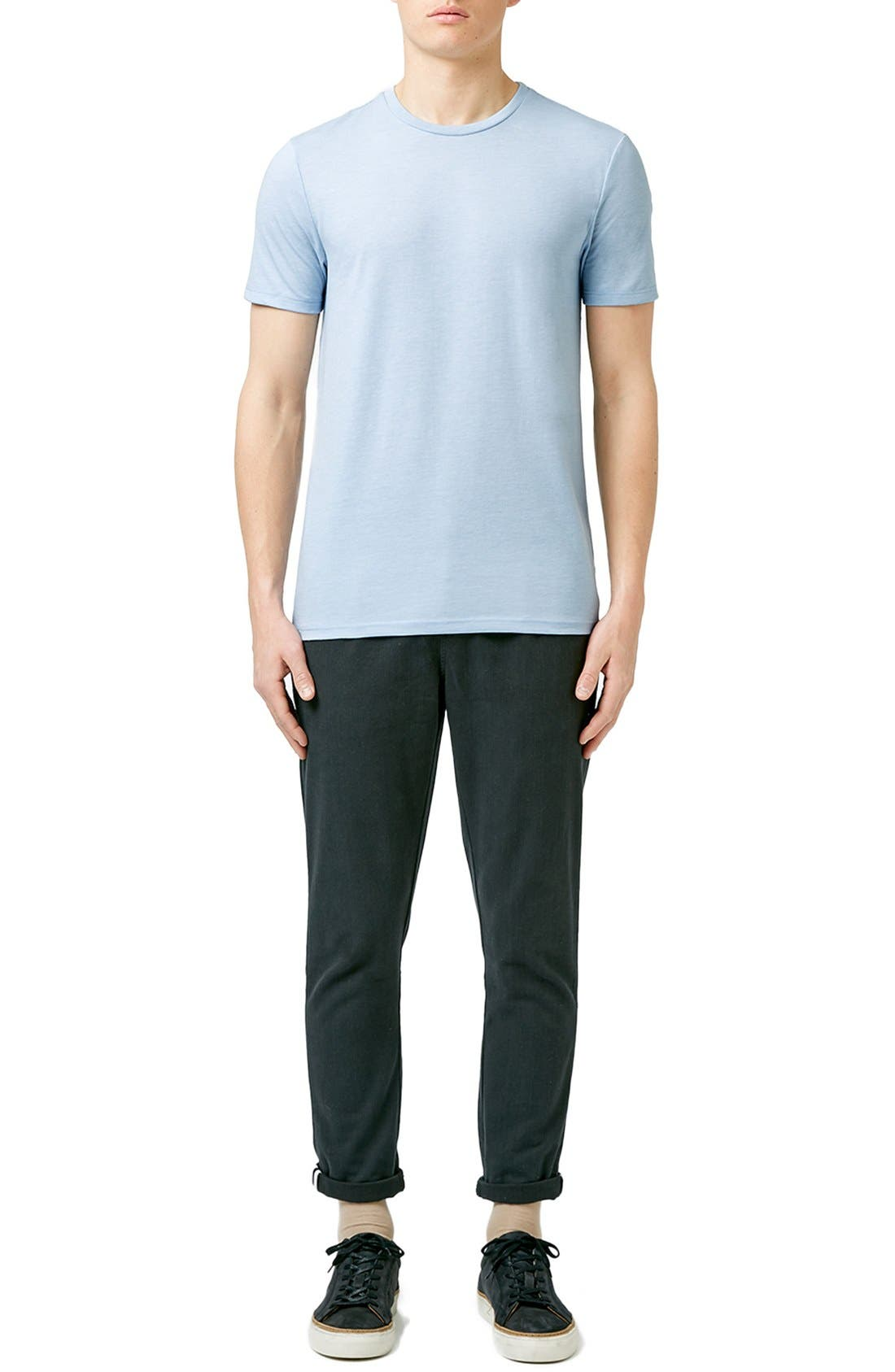 Slim Fit Crewneck T-Shirt,                             Alternate thumbnail 261, color,