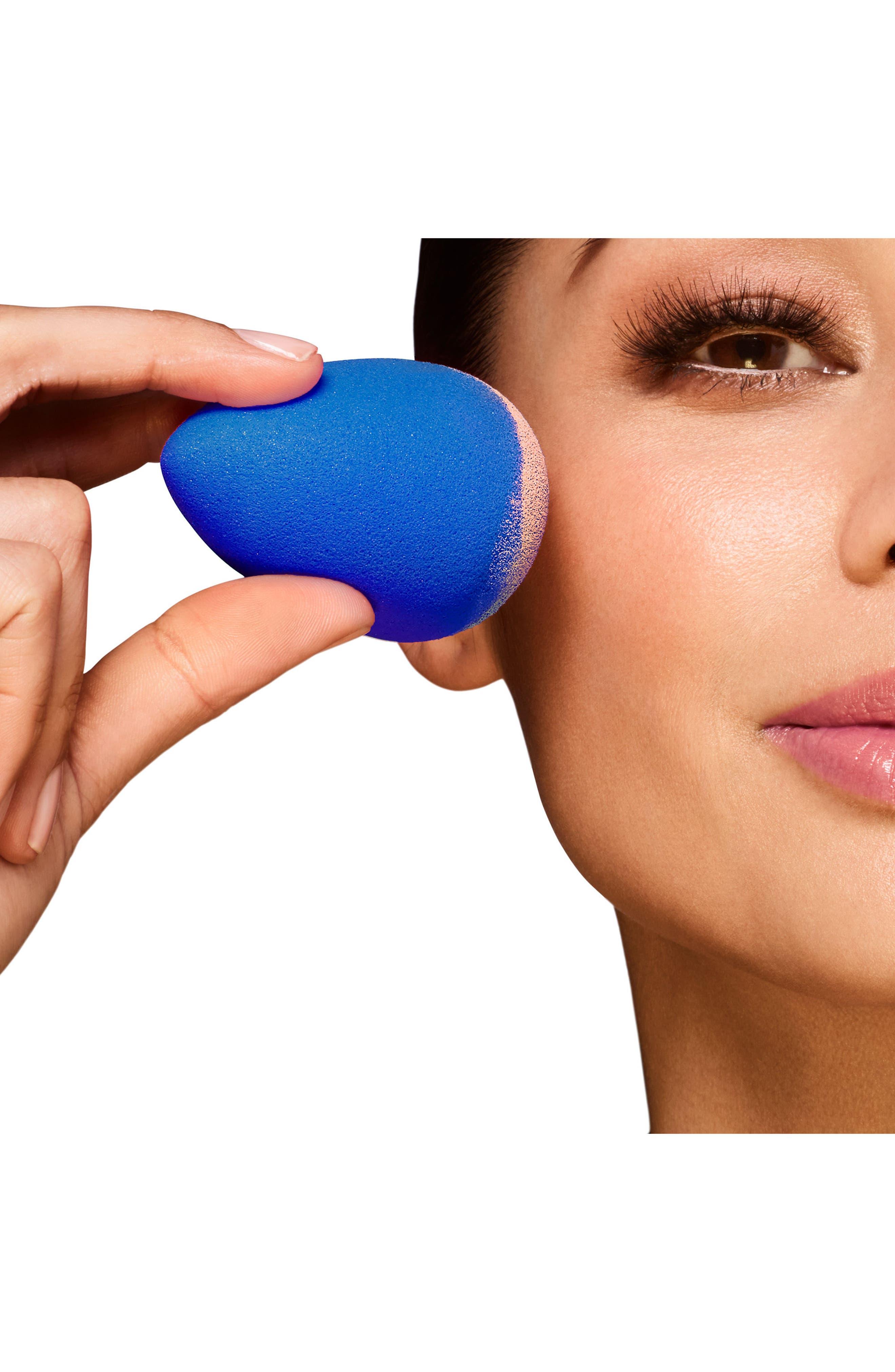 Sapphire Makeup Sponge Applicator,                             Alternate thumbnail 3, color,                             NO COLOR