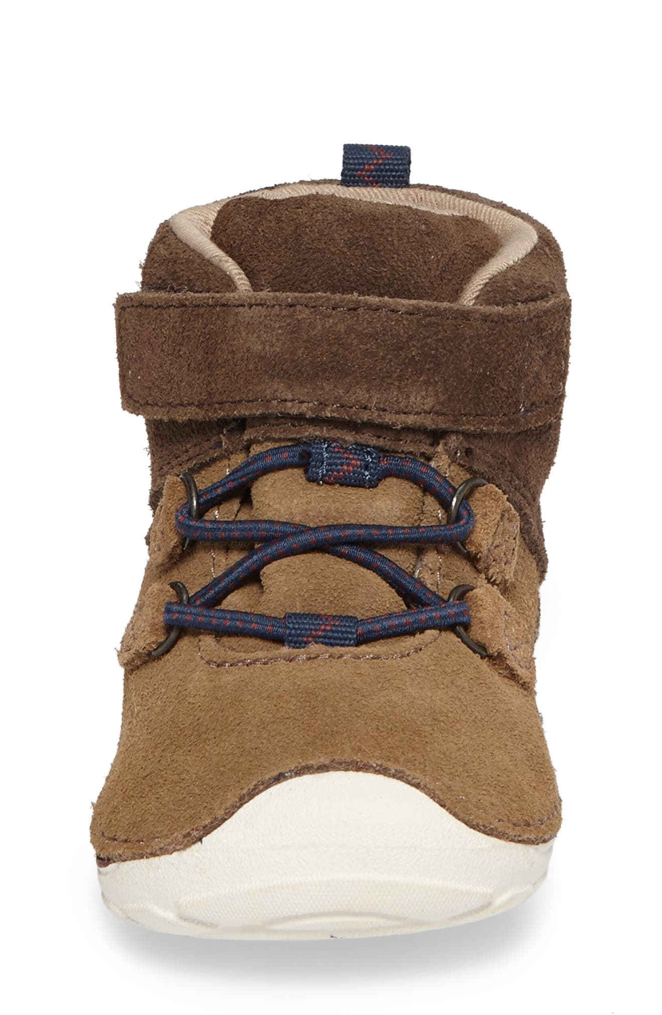 Soft Motion<sup>™</sup> Oliver High Top Sneaker,                             Alternate thumbnail 4, color,                             BROWN SUEDE