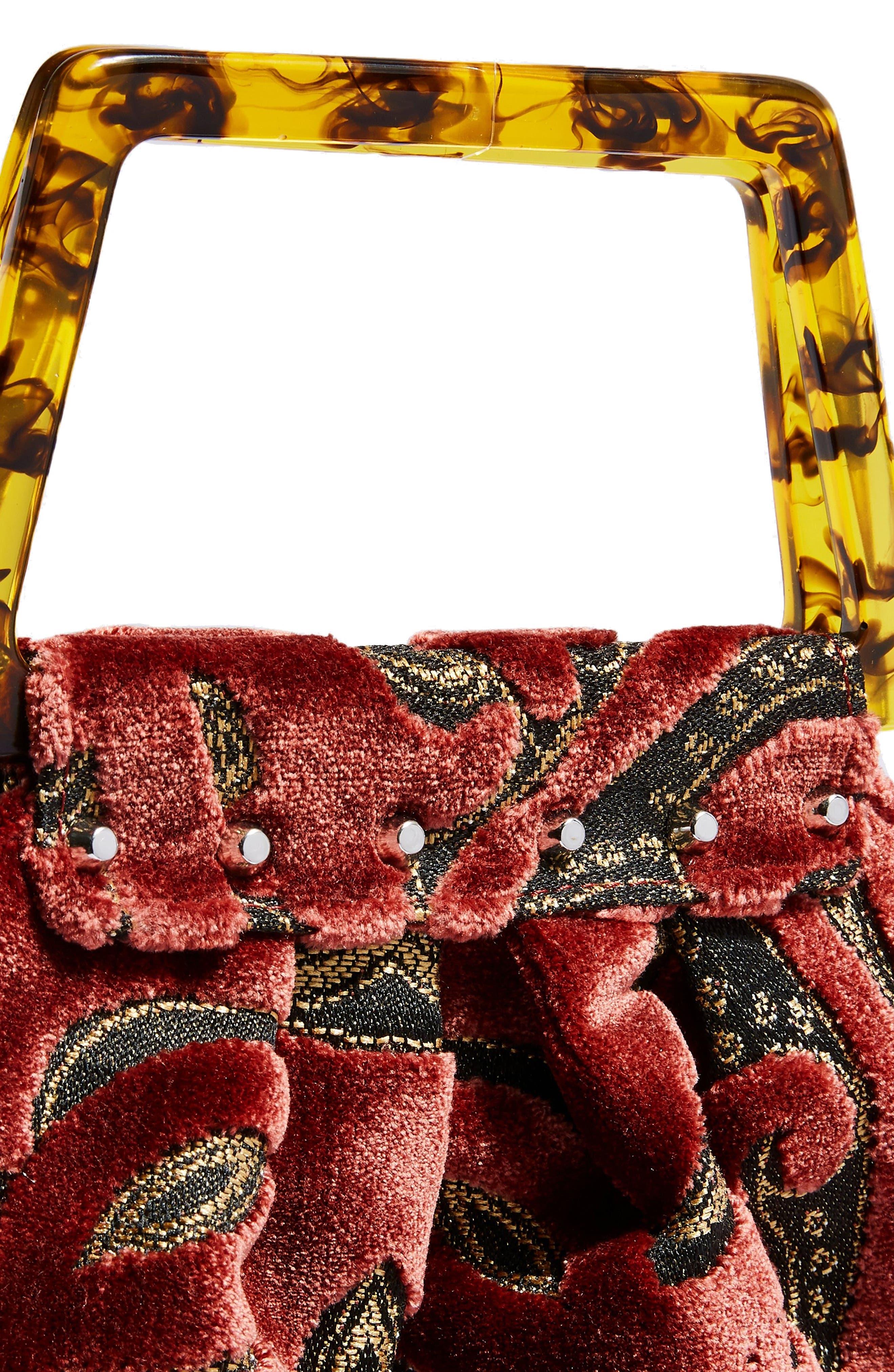 Caz Porto Tote Bag,                             Alternate thumbnail 4, color,                             650