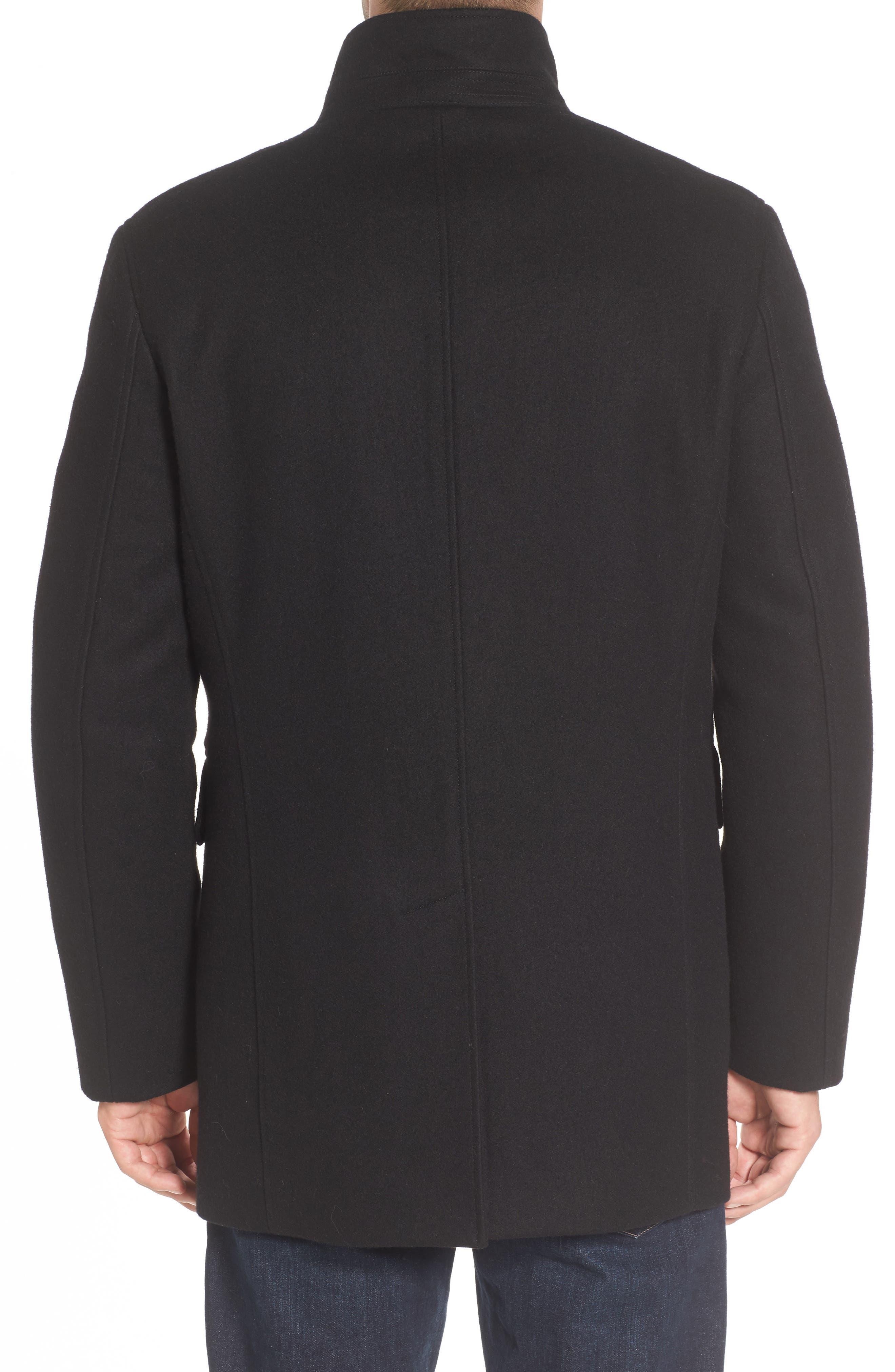 Wool Blend 3-in-1 Topcoat,                             Alternate thumbnail 2, color,                             001
