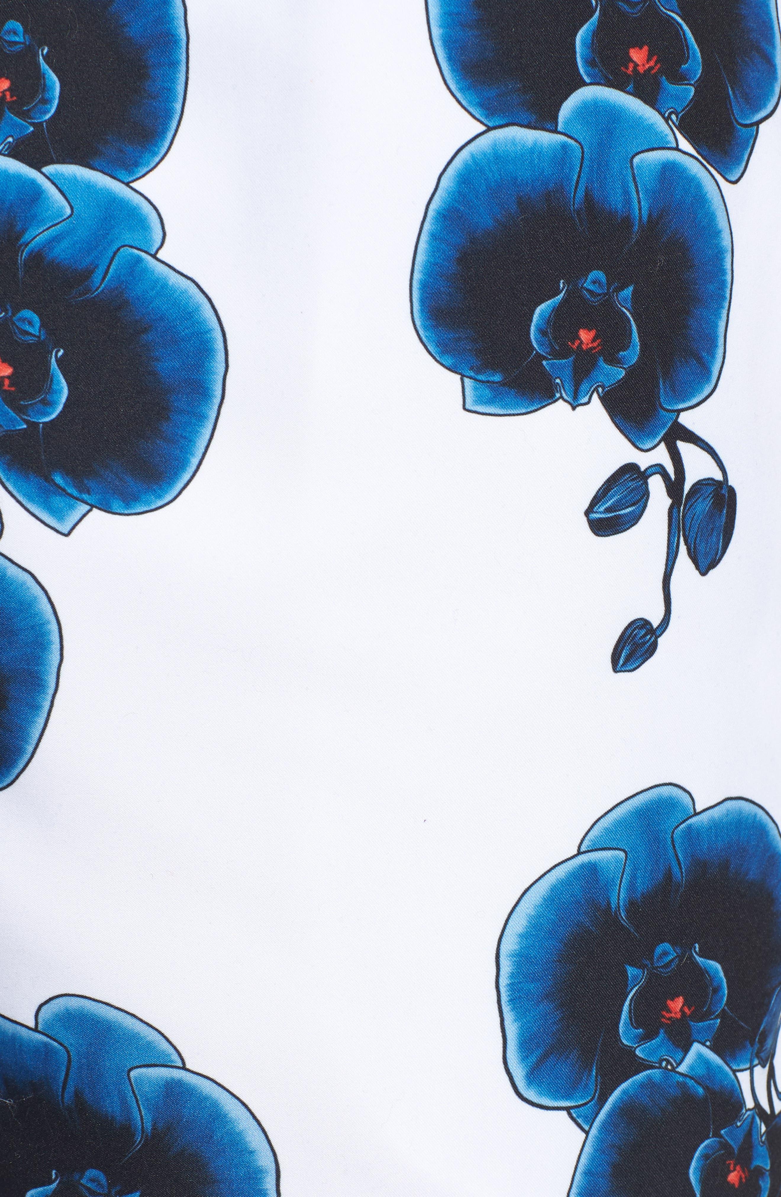 Timothy Orchid Swim Shorts,                             Alternate thumbnail 5, color,                             110