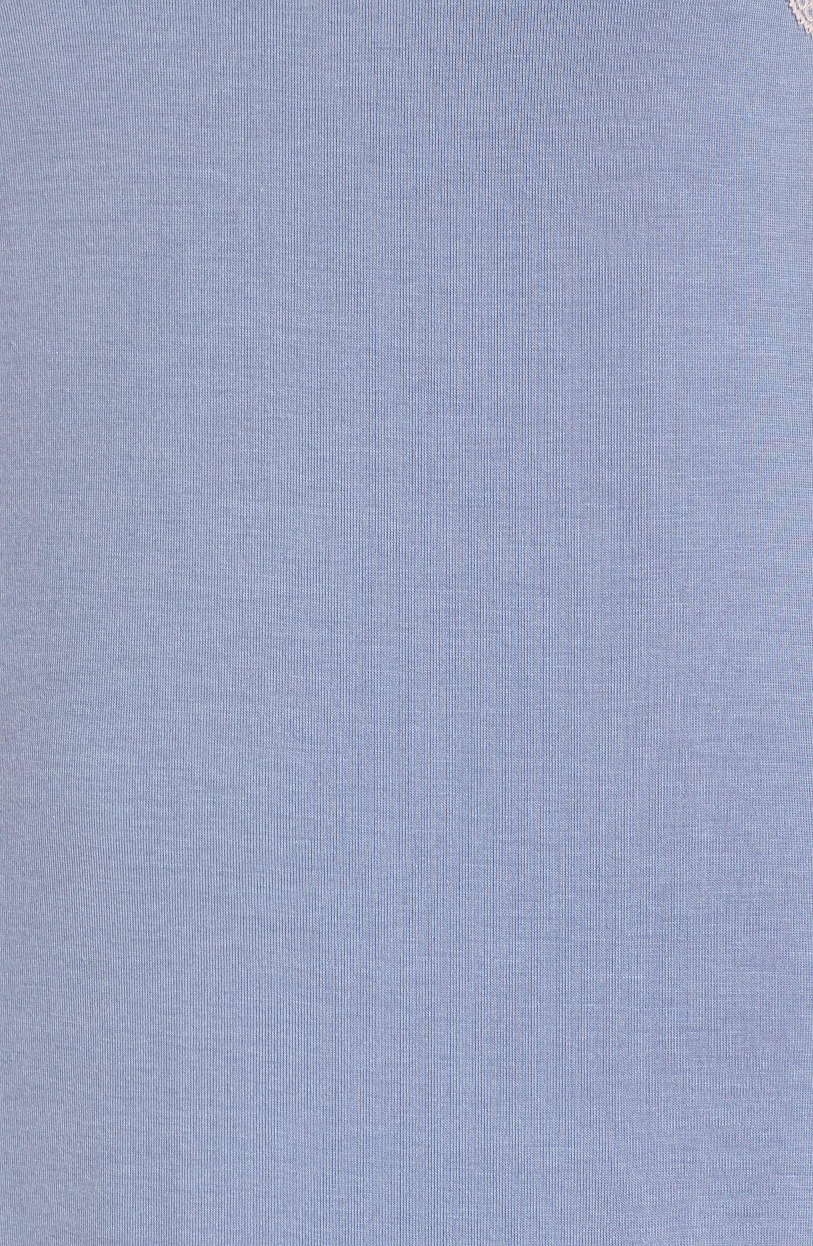 HONEYDEW INTIMATES,                             Ahna Chemise,                             Alternate thumbnail 5, color,                             BLUEBELL