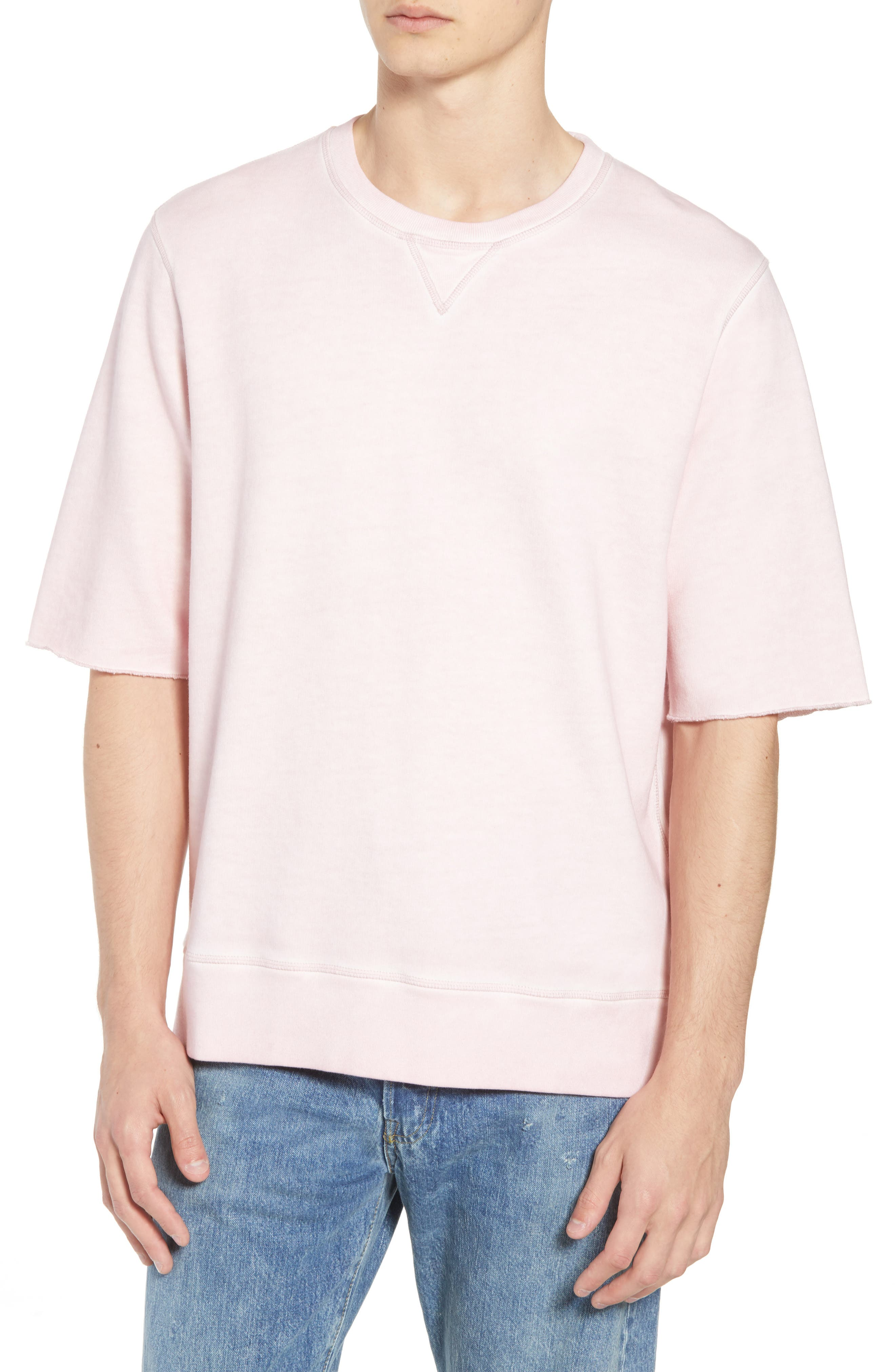 Levis'<sup>®</sup> Made & Crafted<sup>™</sup> Standard Fit T-Shirt,                             Main thumbnail 1, color,                             KEEPSAKE LILAC