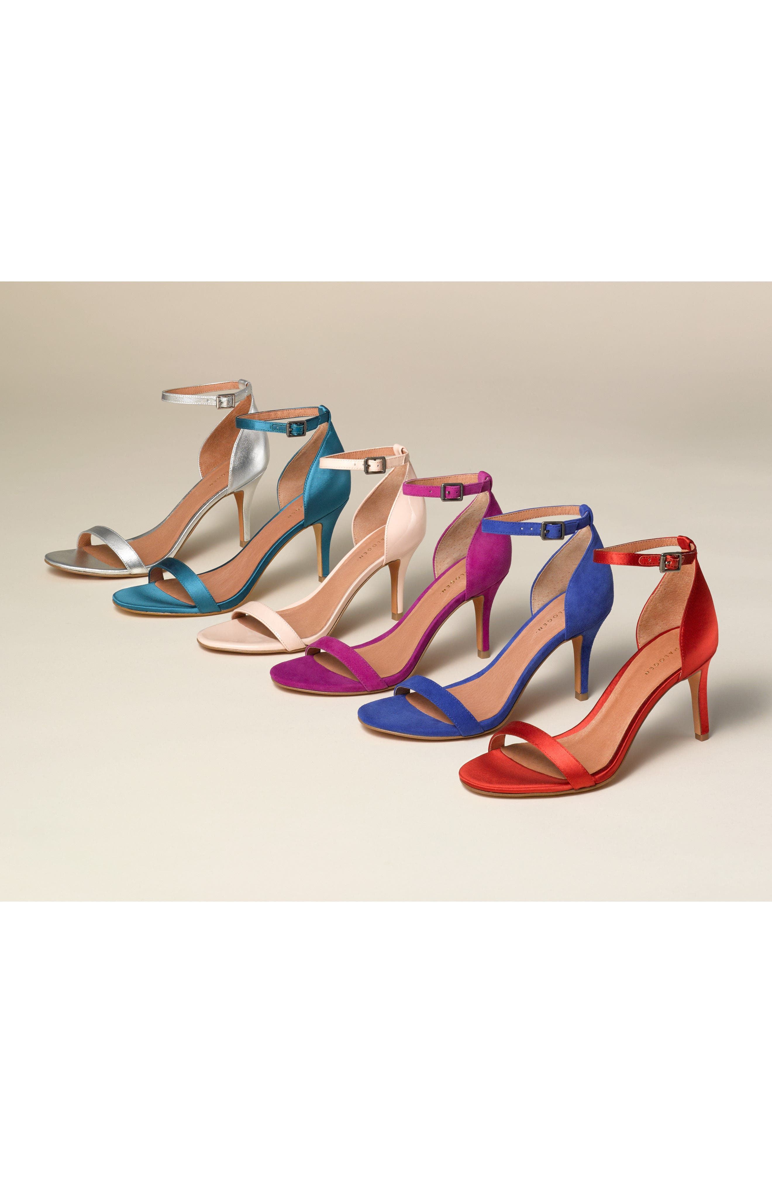 HALOGEN<SUP>®</SUP> Audrey Ankle Strap Sandal, Main, color, 001