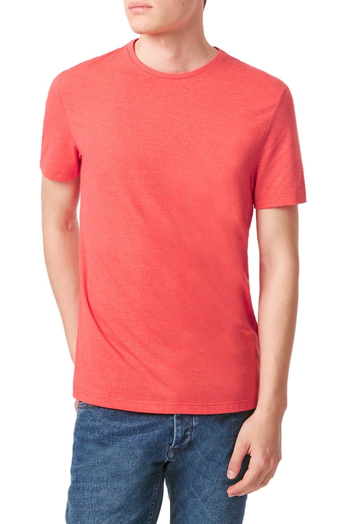 Slim Fit Crewneck T-Shirt,                             Main thumbnail 81, color,