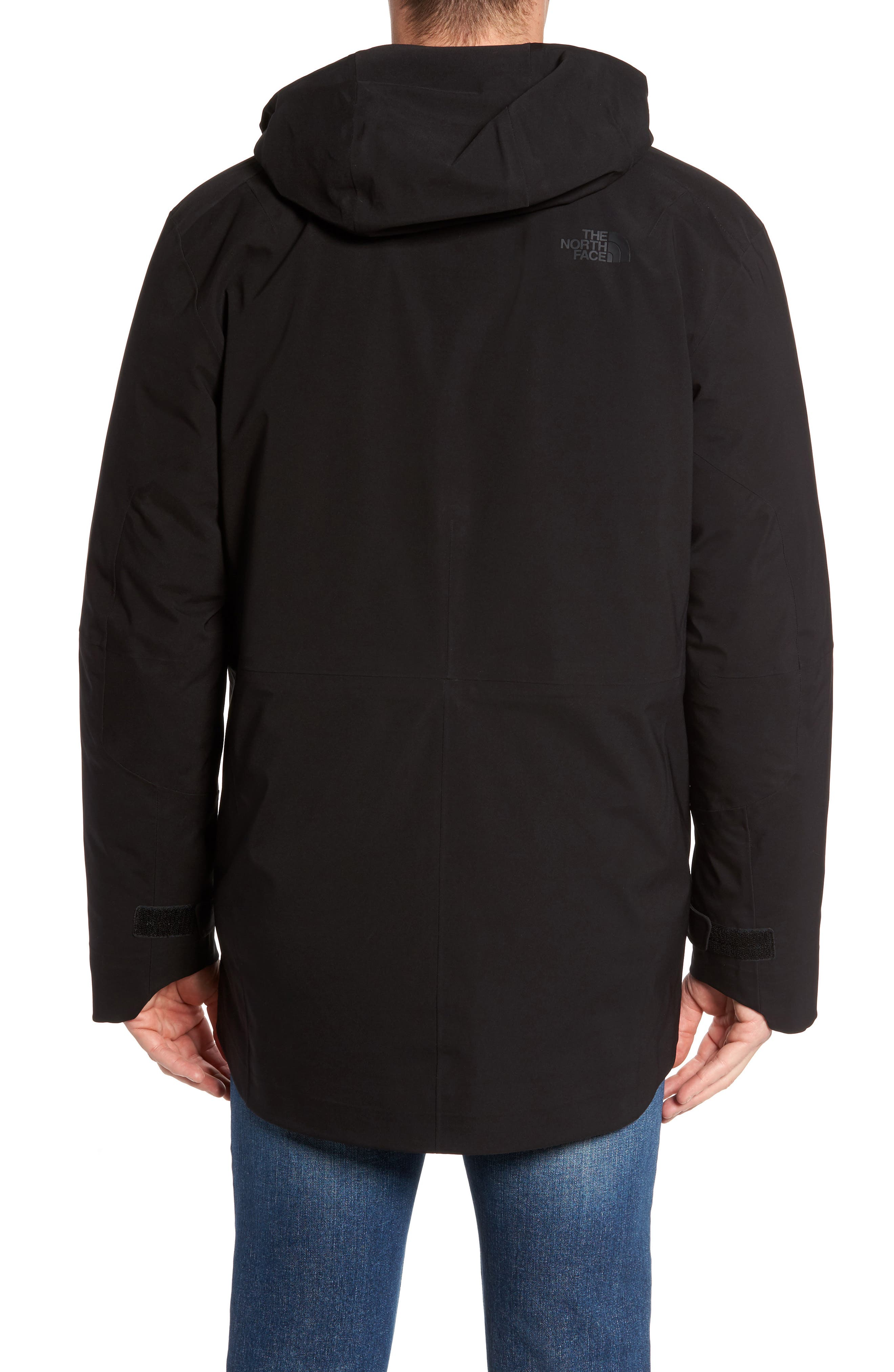 Cryos Gore-Tex<sup>®</sup> Tri-Climate 3-in-1 Jacket,                             Alternate thumbnail 2, color,                             TNF BLACK