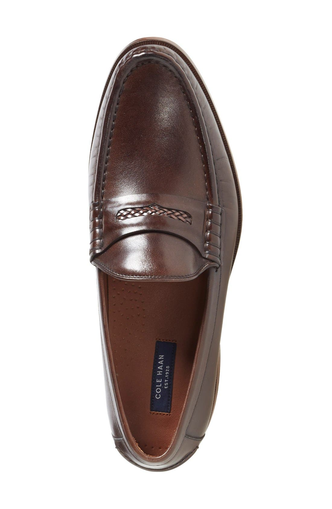 'Pinch Gotham' Penny Loafer,                             Alternate thumbnail 8, color,