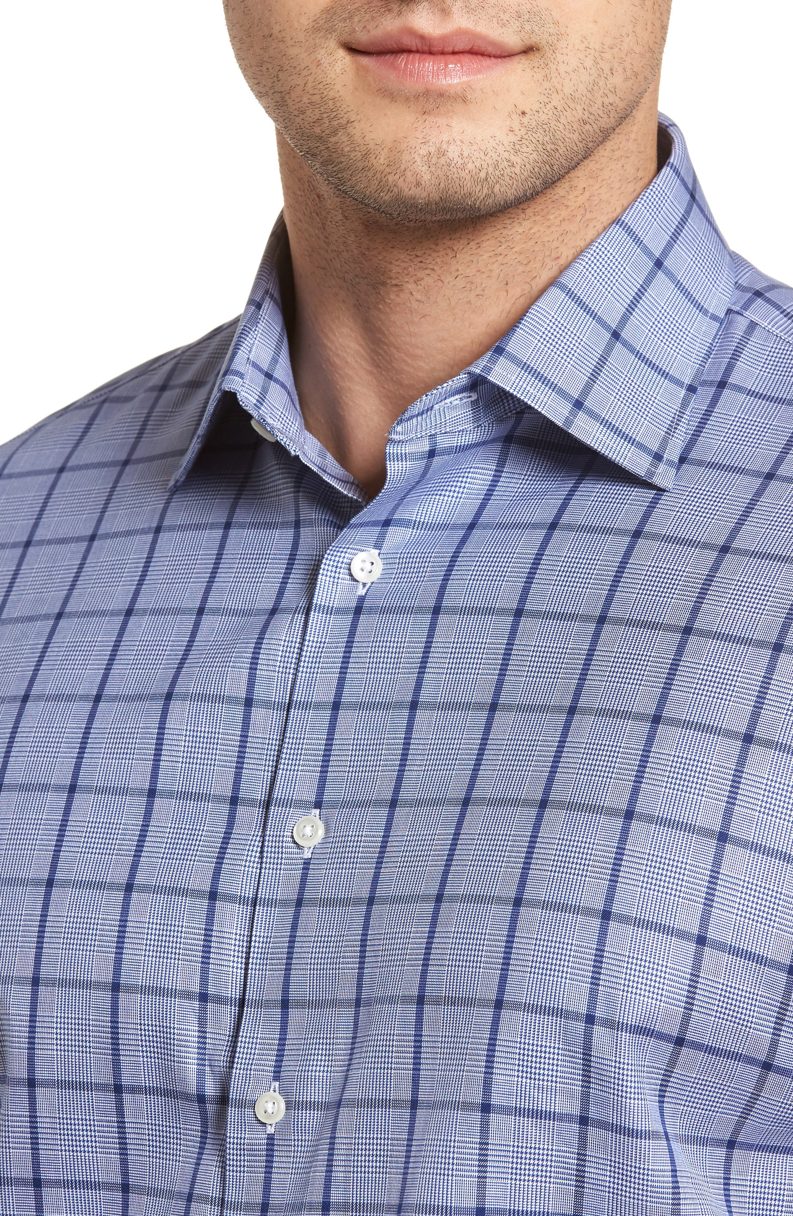 Classic Fit Check Dress Shirt,                             Alternate thumbnail 2, color,                             420