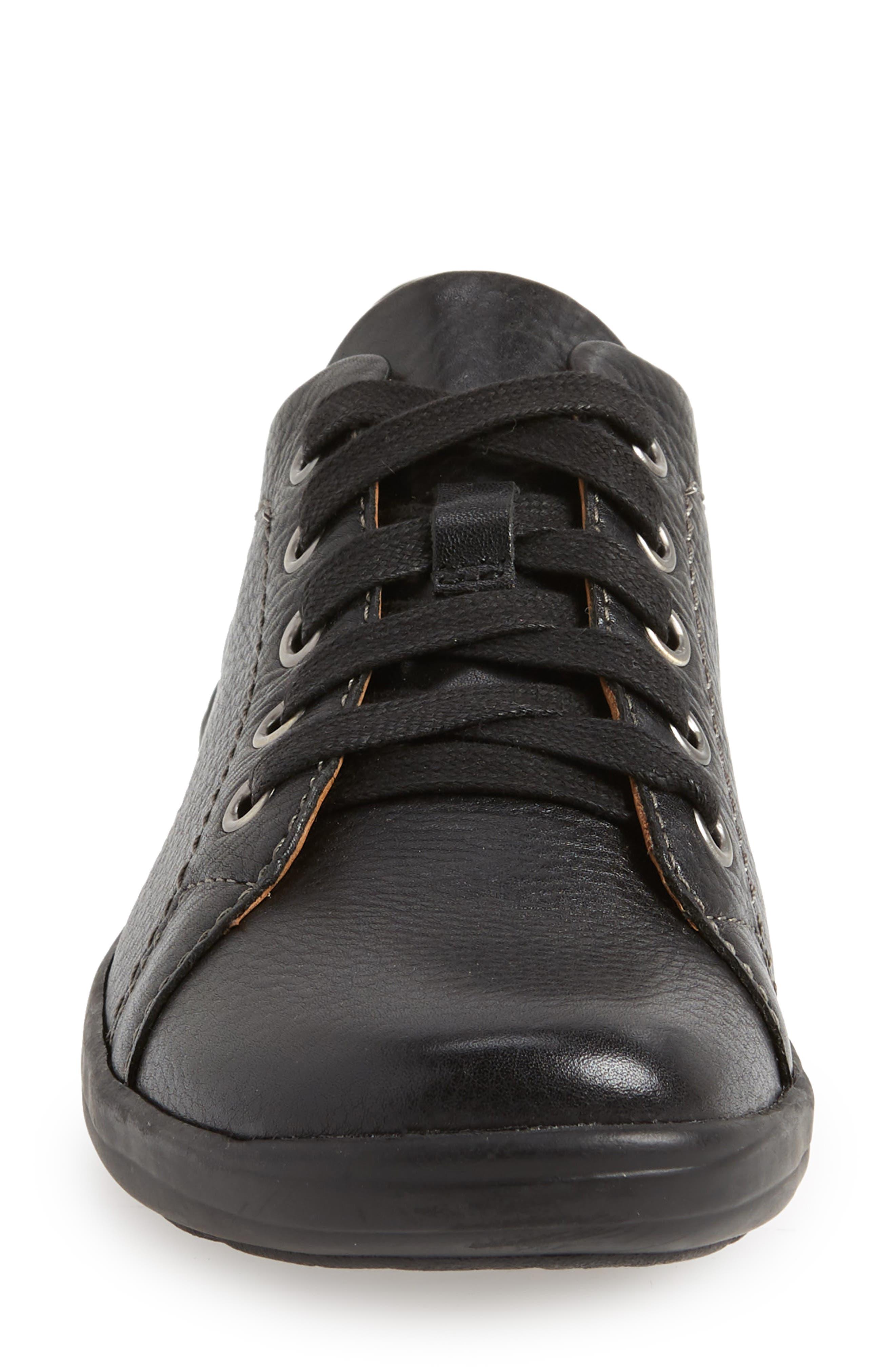 Reston Sneaker,                             Alternate thumbnail 4, color,                             BLACK