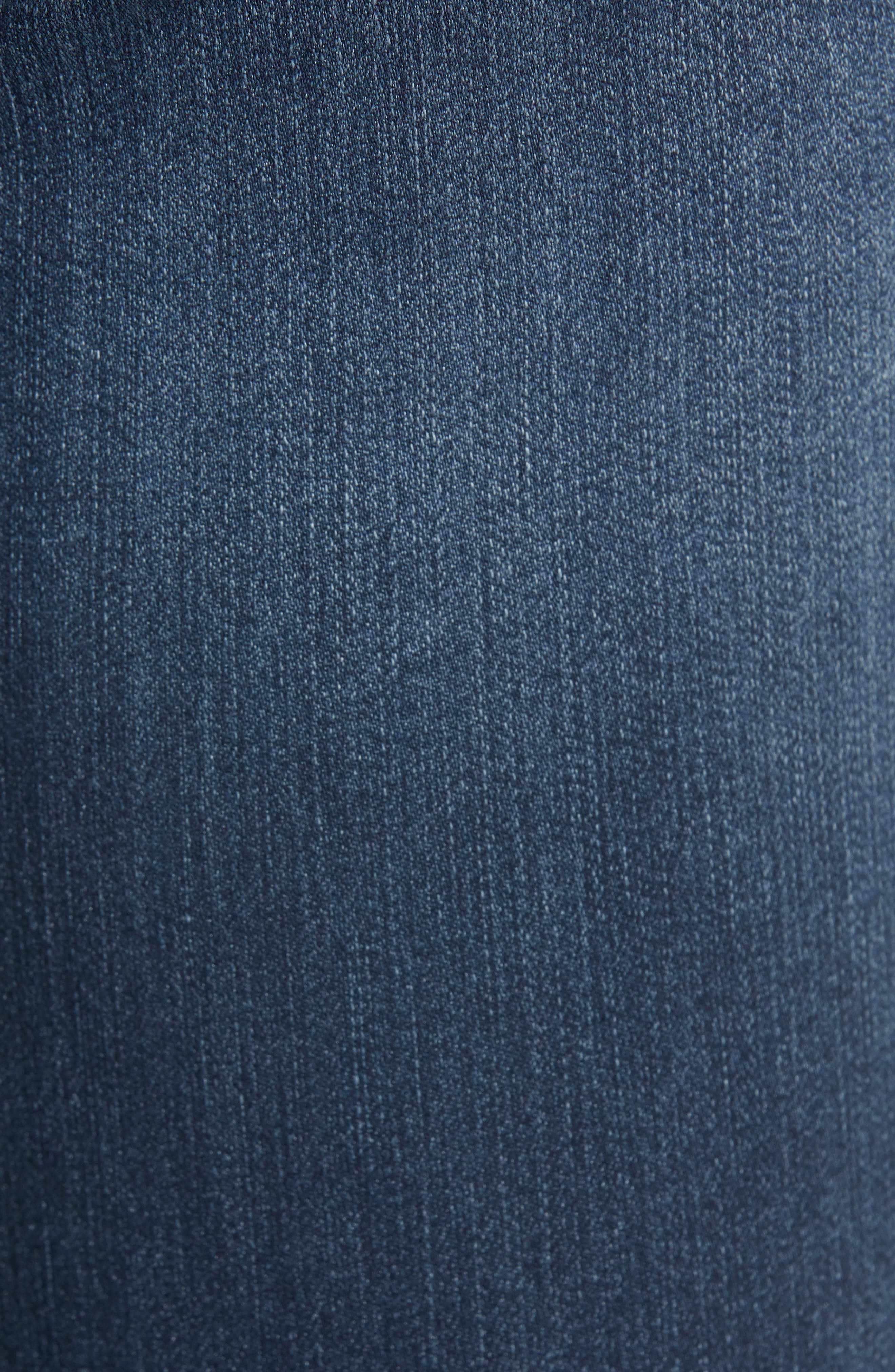 WIT & WISDOM, Contemporary Skinny Jeans, Alternate thumbnail 5, color, 402