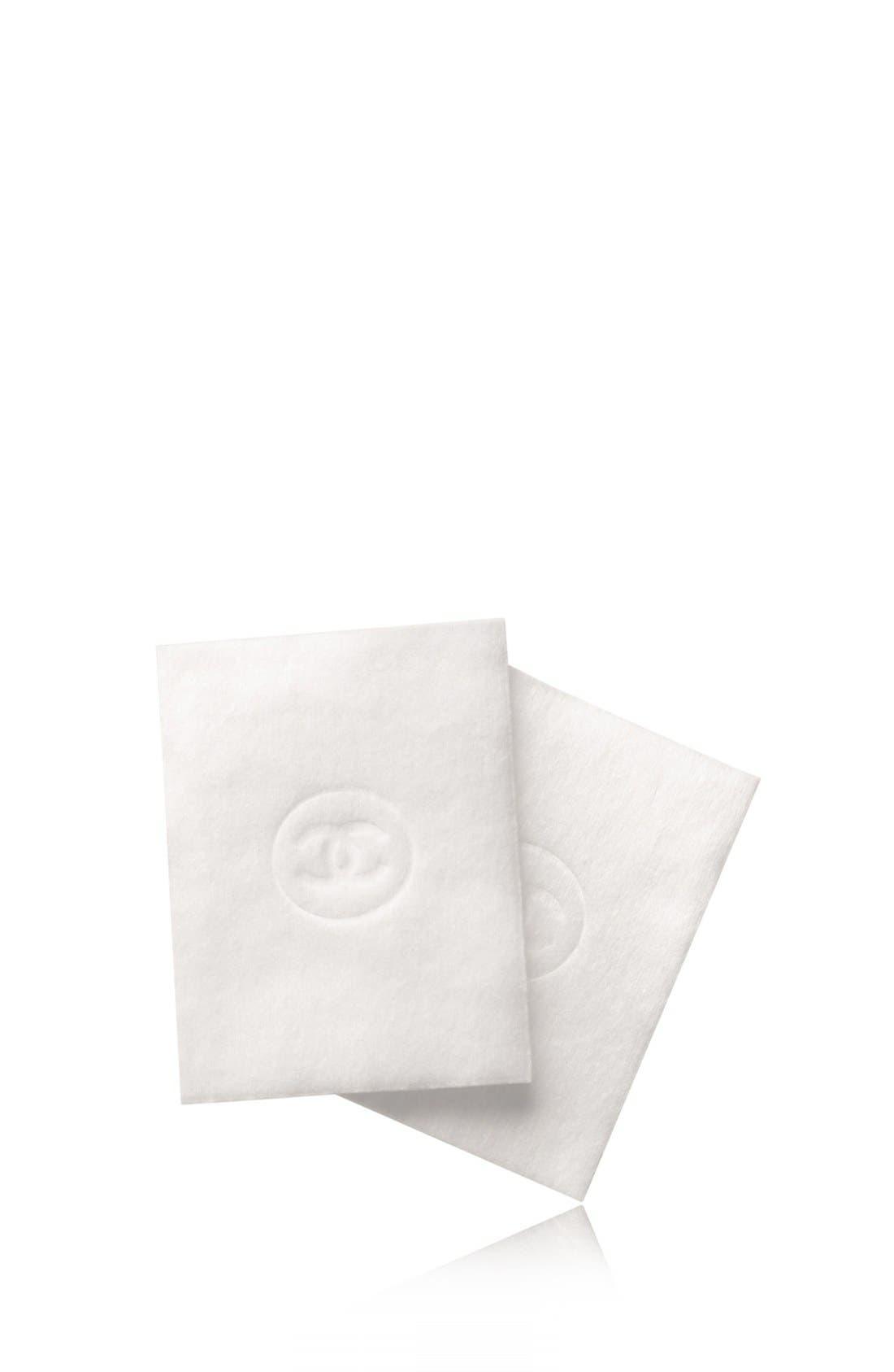 LE COTON<br />Extra Soft Cotton Pads,                             Main thumbnail 1, color,                             000