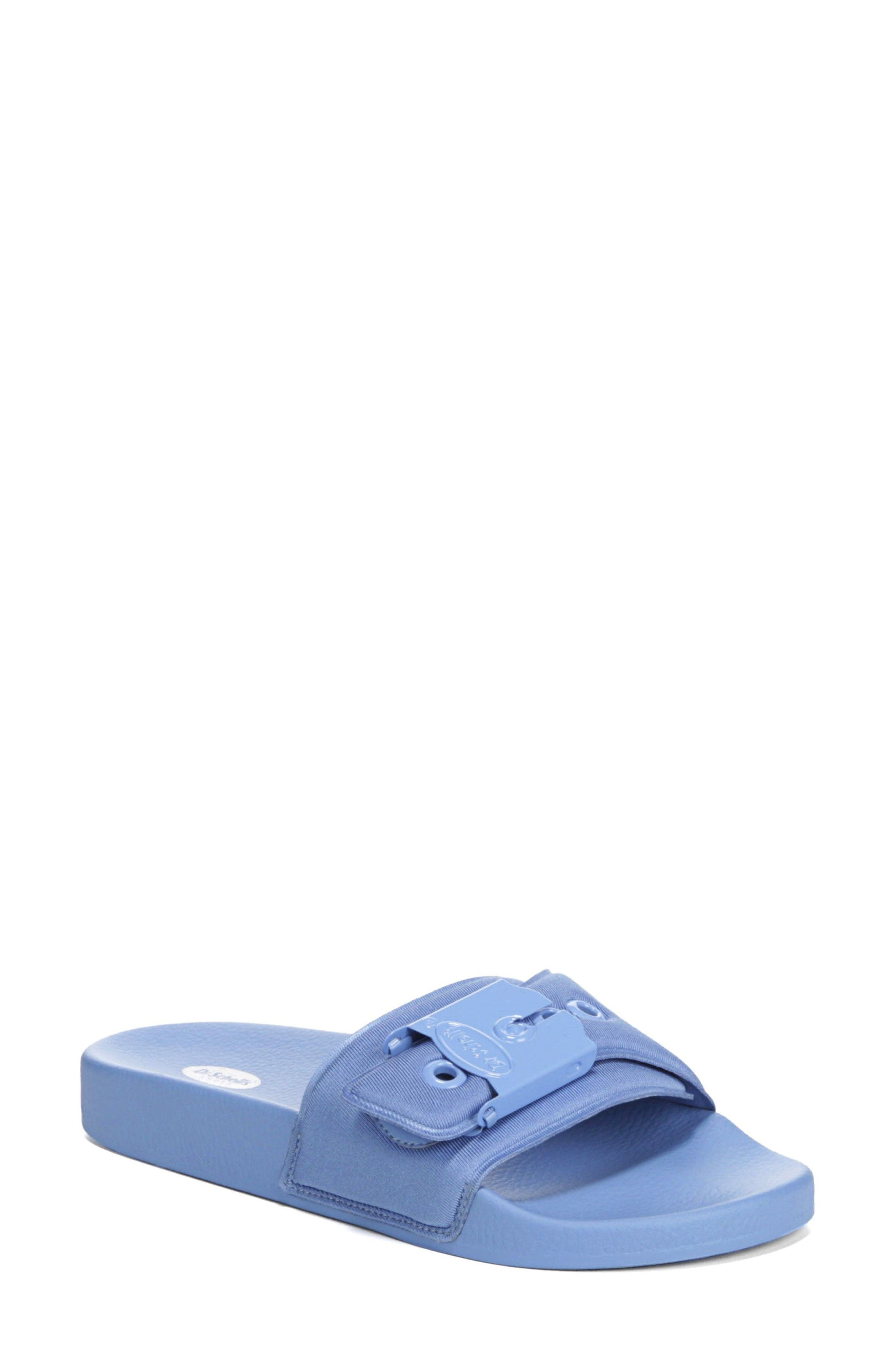 Original Pool Slide Sandal,                         Main,                         color, BLUE