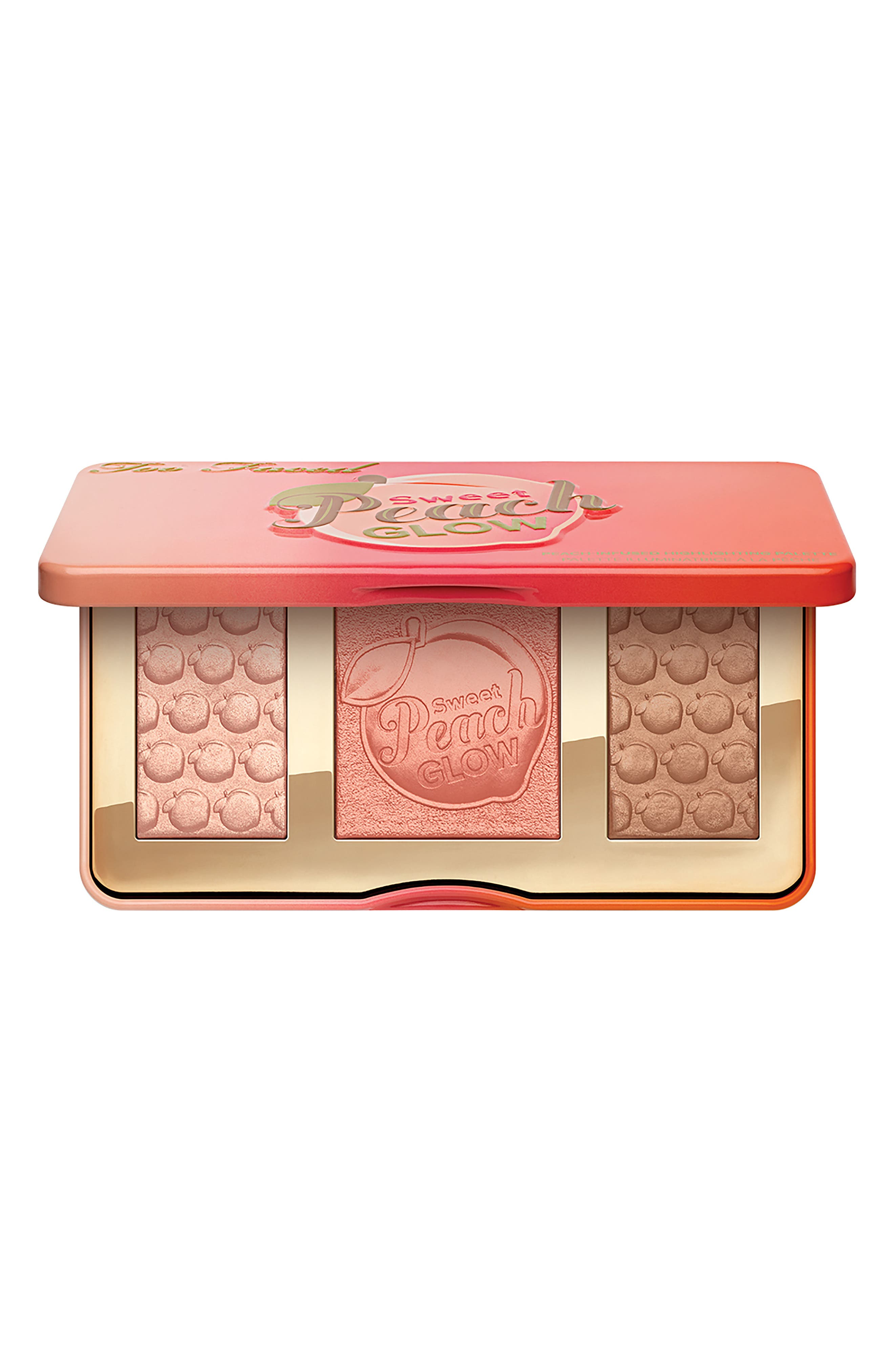 Sweet Peach Glow Highlighting Palette,                             Alternate thumbnail 6, color,                             NO COLOR