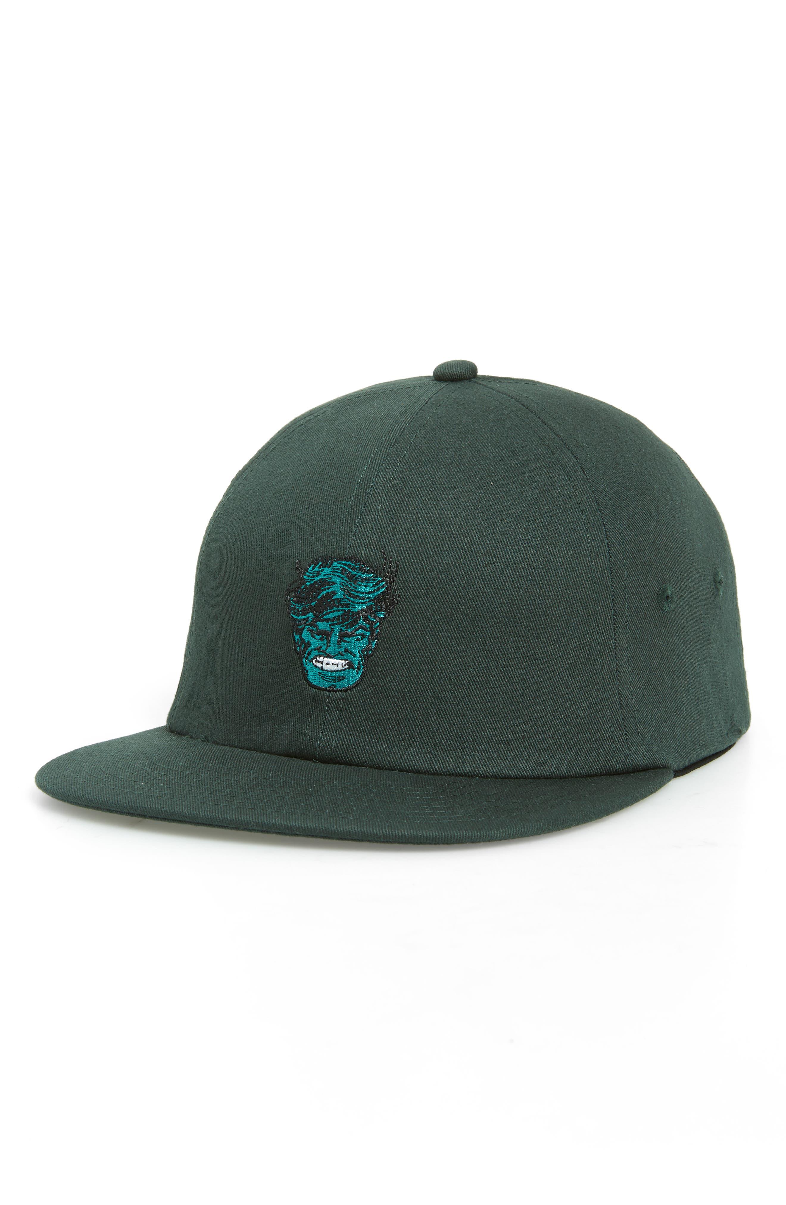x Marvel Baseball Cap,                         Main,                         color, DARKEST SPRUCE