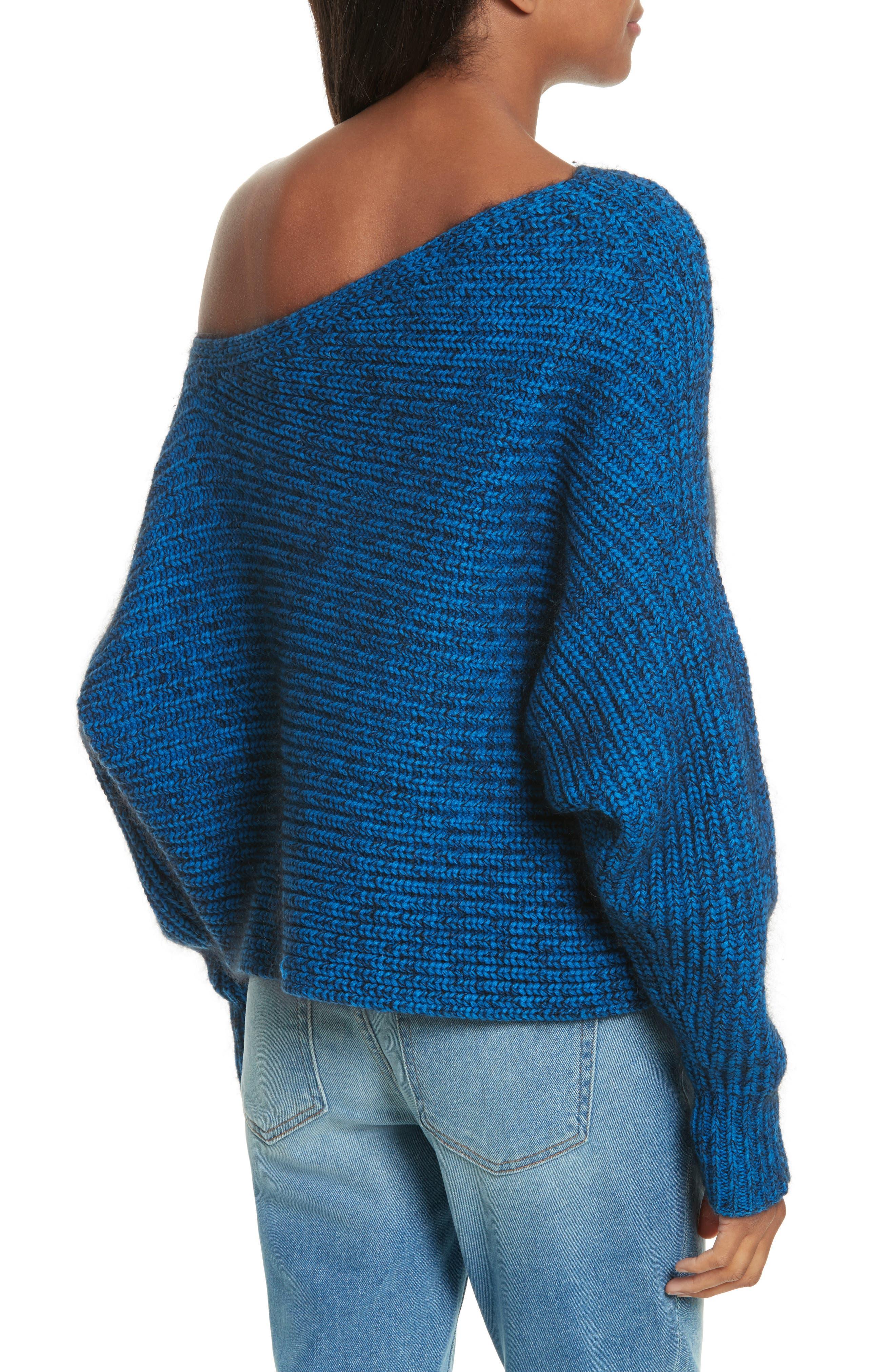 Asymmetrical Knit Sweater,                             Alternate thumbnail 2, color,                             437