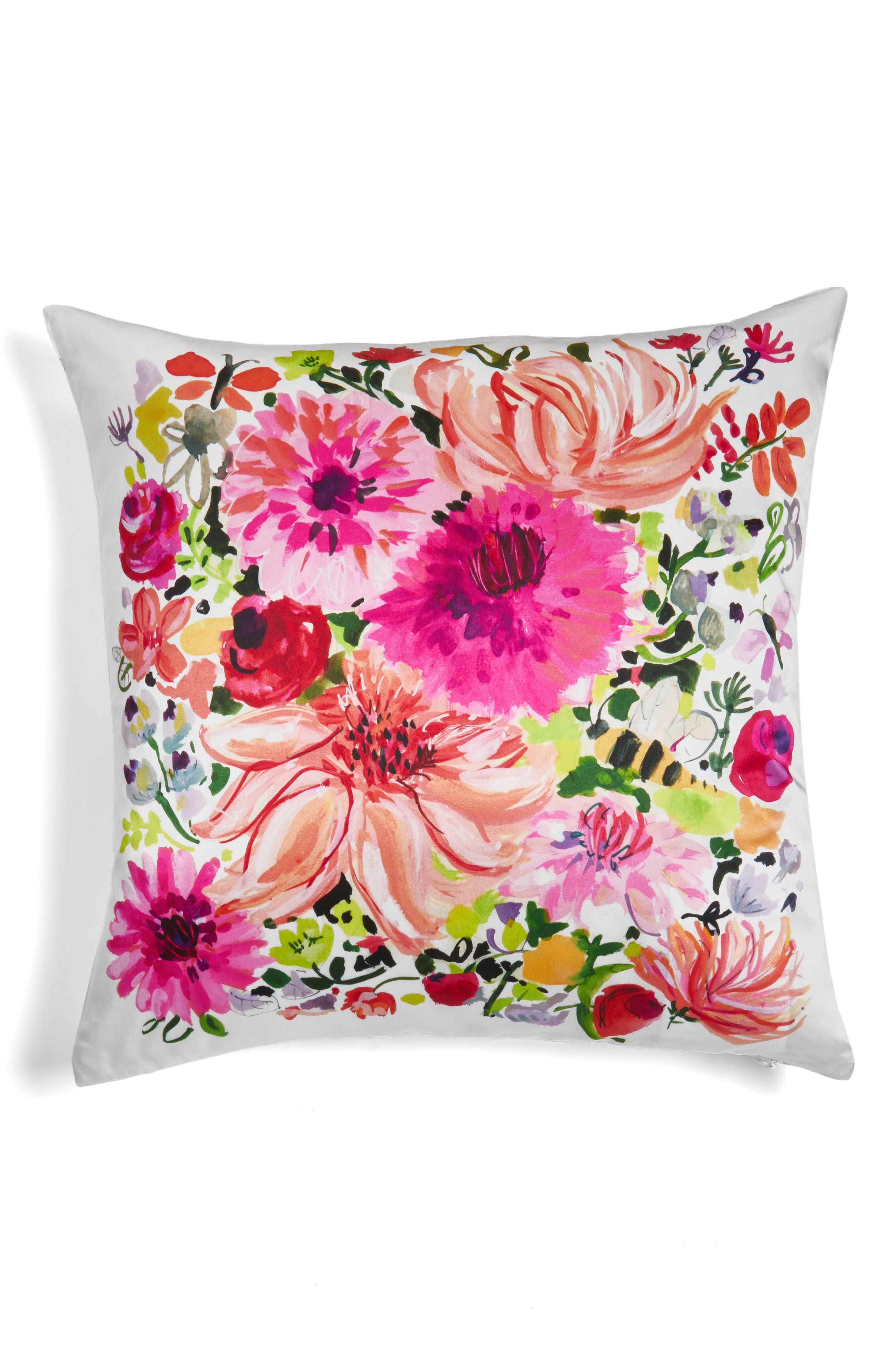 dahlia accent pillow,                             Alternate thumbnail 2, color,                             650