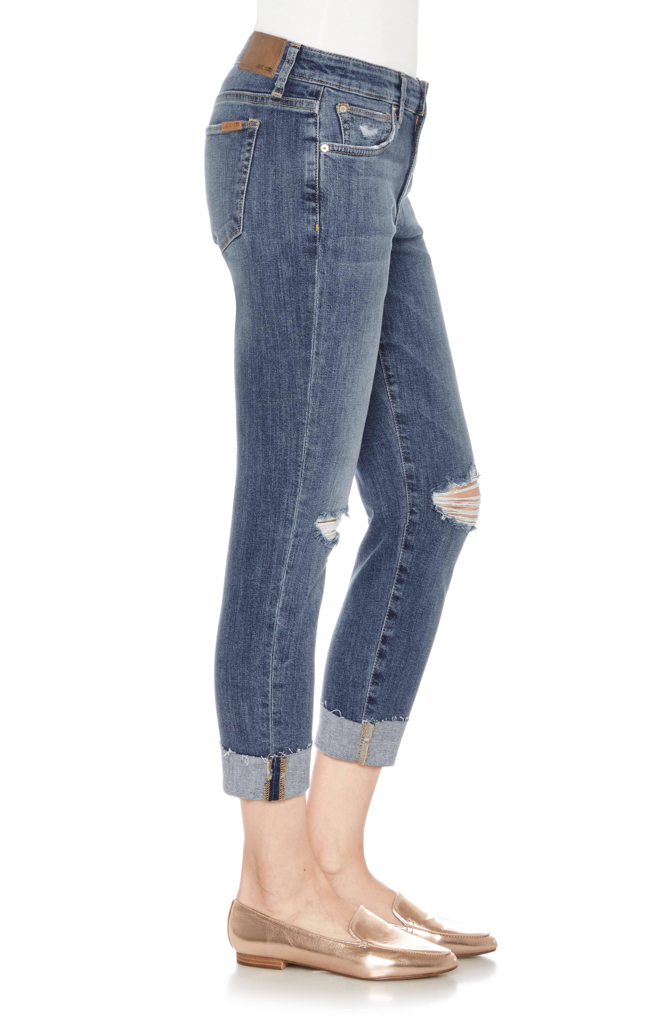 Smith Crop Skinny Jeans,                             Alternate thumbnail 3, color,