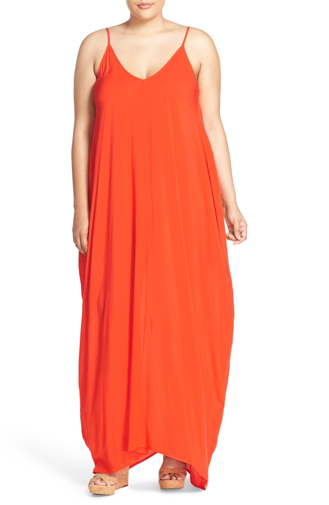 Cover-Up Maxi Dress,                             Main thumbnail 5, color,