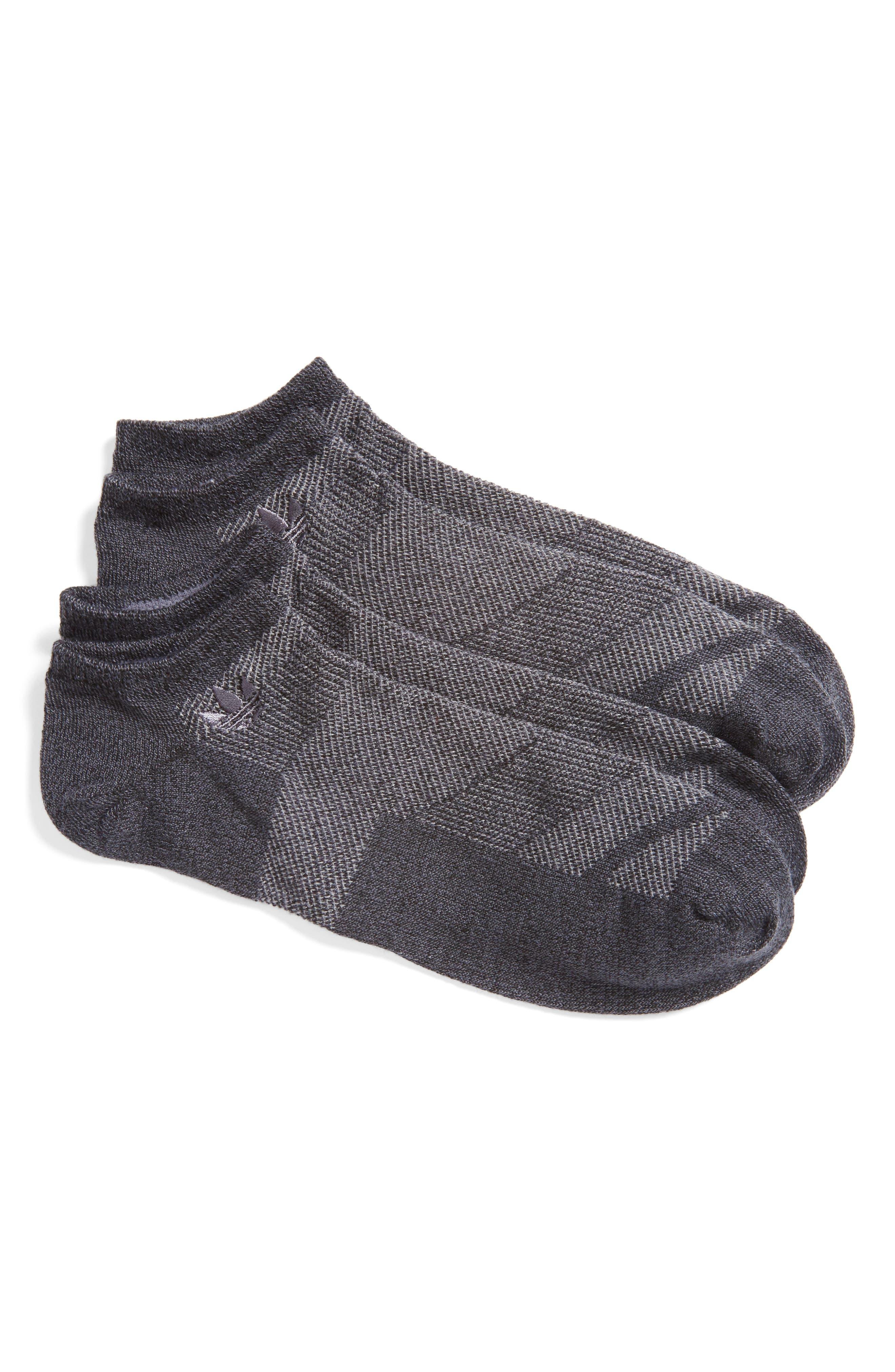 Prime Mesh 2-Pack No-Show Socks,                             Main thumbnail 1, color,                             001