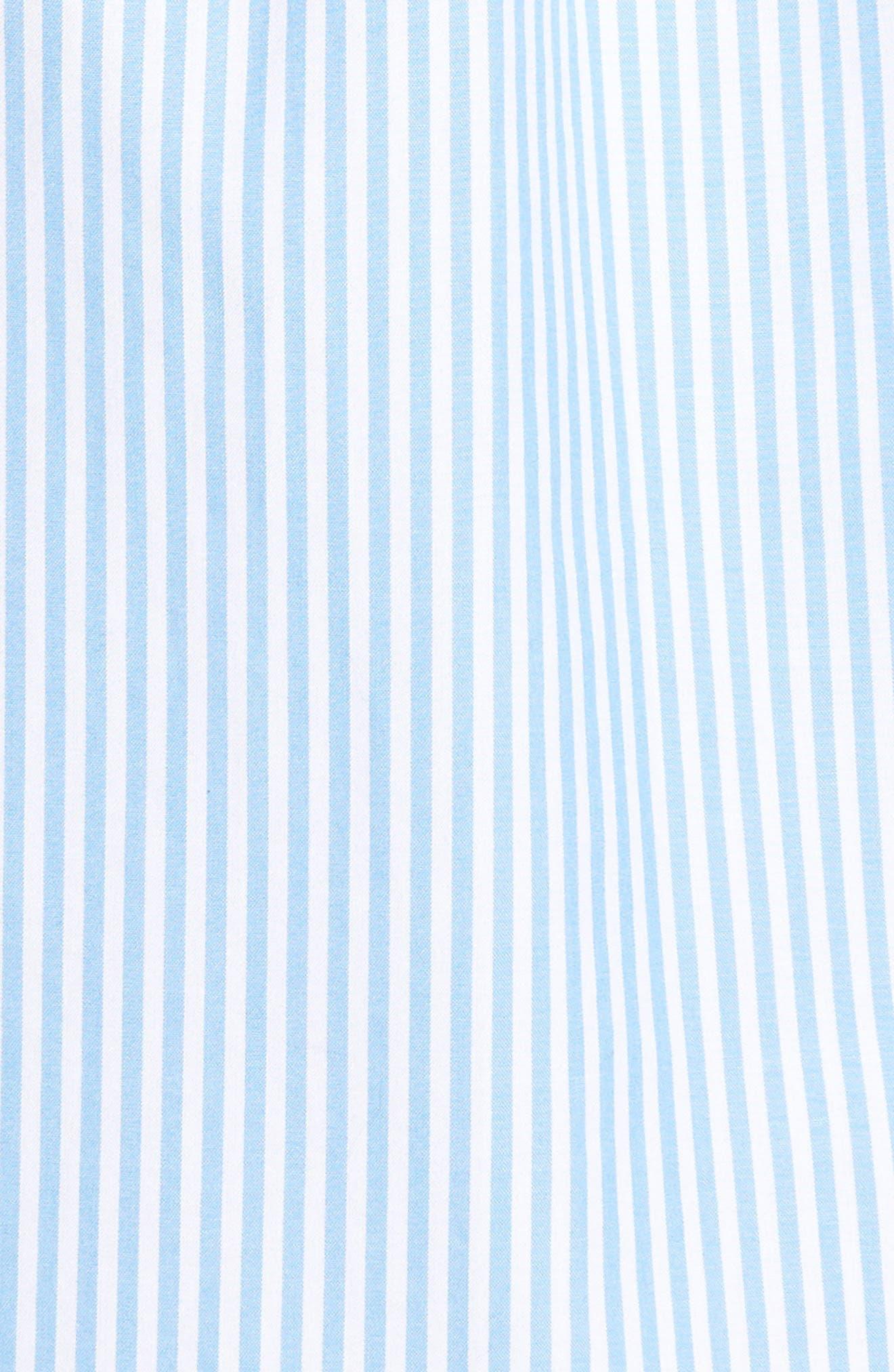 Swordfish Stripe Tucker Sport Shirt,                             Alternate thumbnail 5, color,