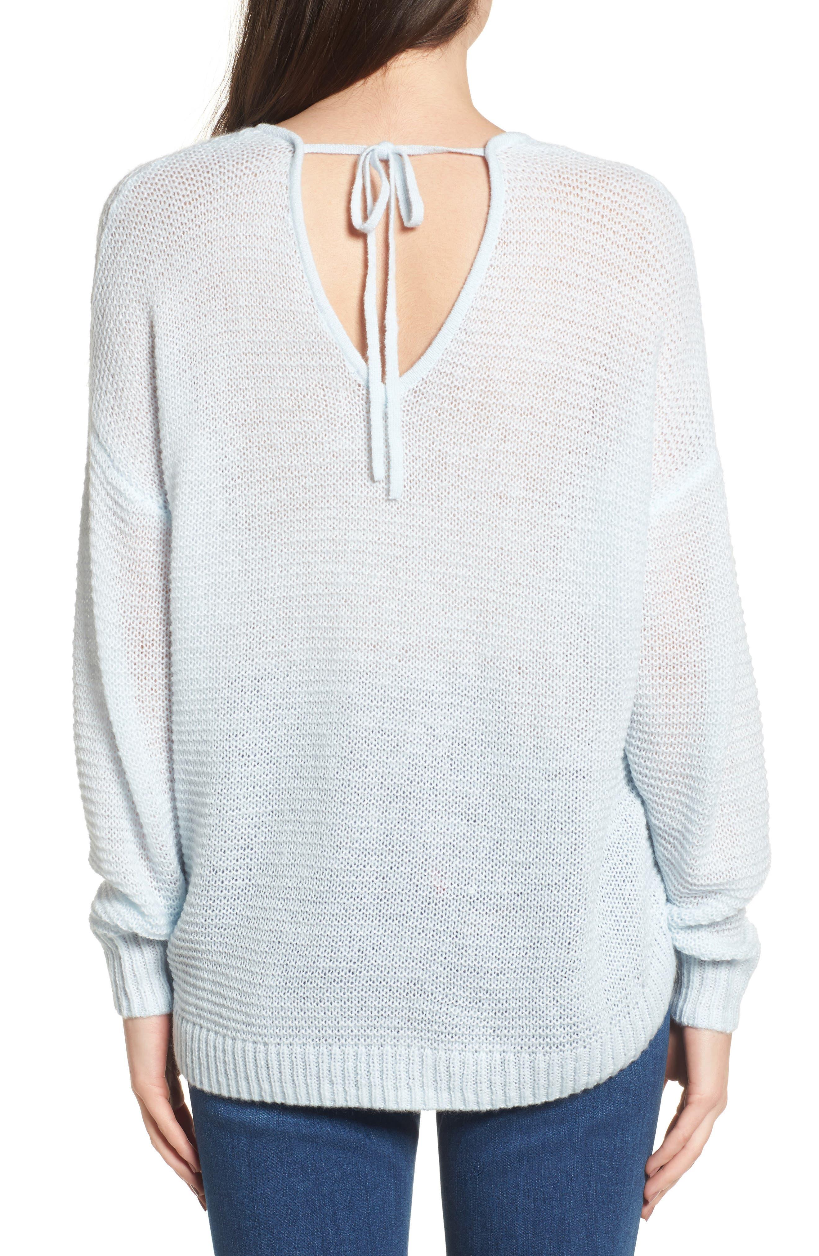 Double V Sweater,                             Alternate thumbnail 2, color,                             450