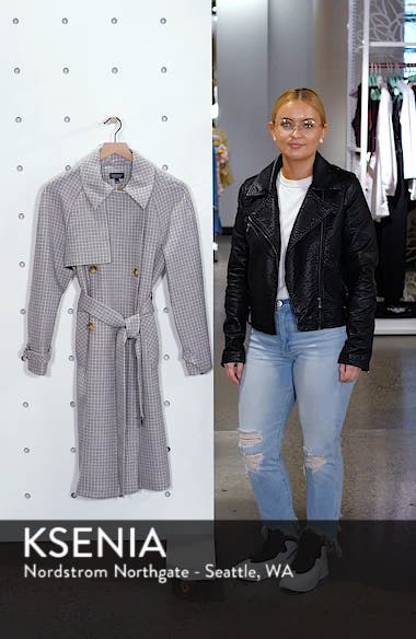 Angie Trench Coat, sales video thumbnail