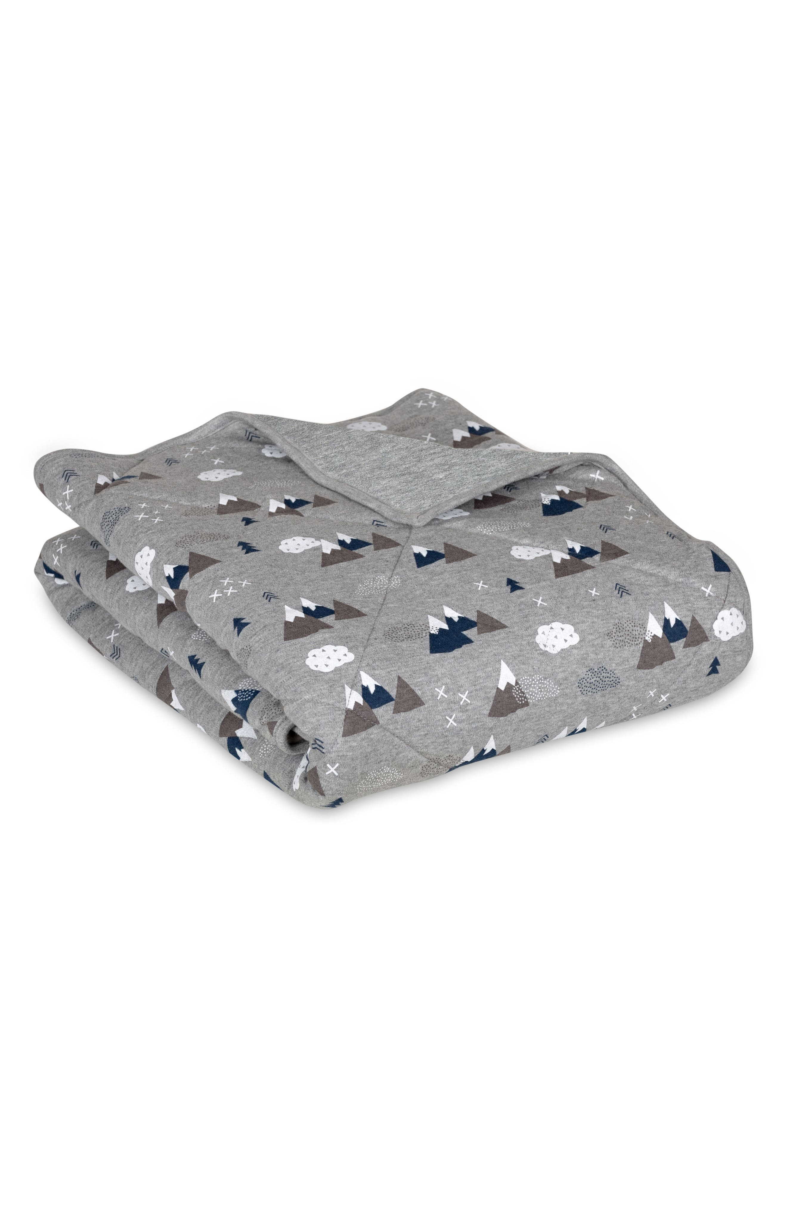 Peaks Quilted Comforter,                             Main thumbnail 1, color,                             020