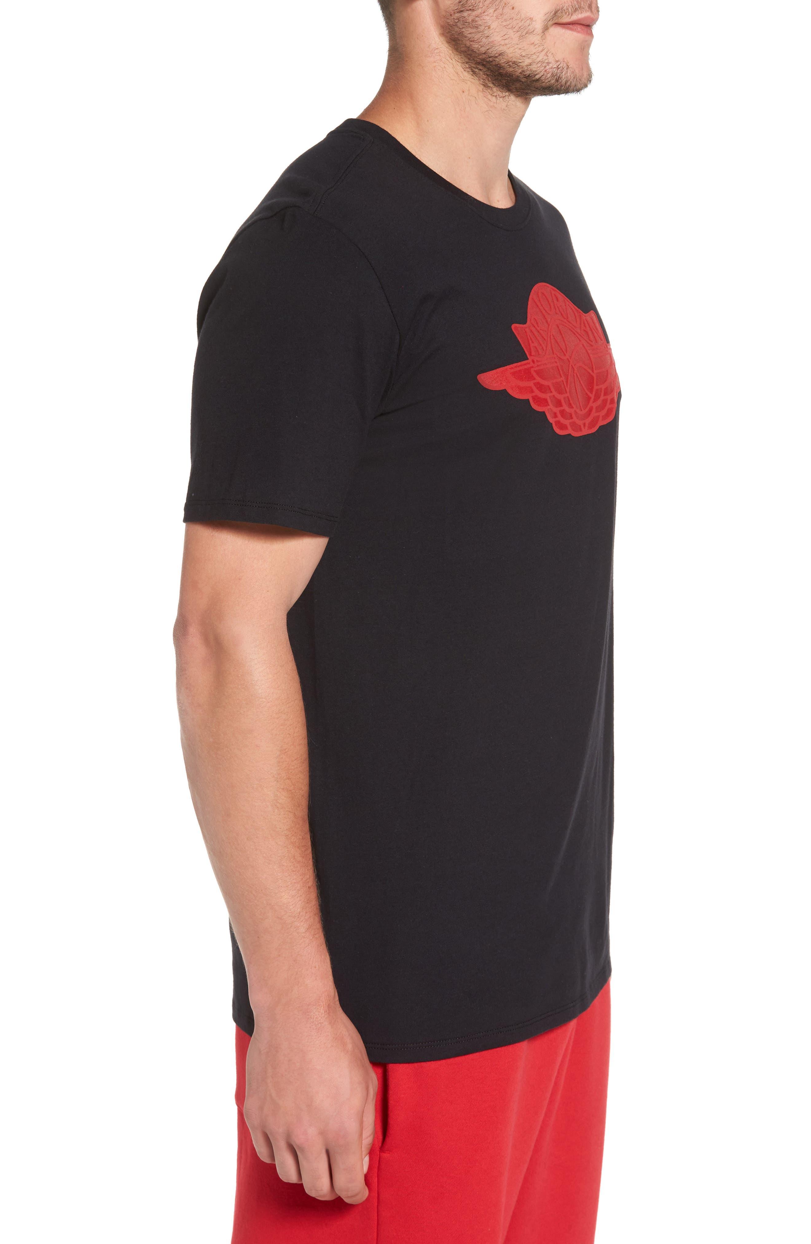 Sportswear Wings Logo Graphic T-Shirt,                             Alternate thumbnail 7, color,
