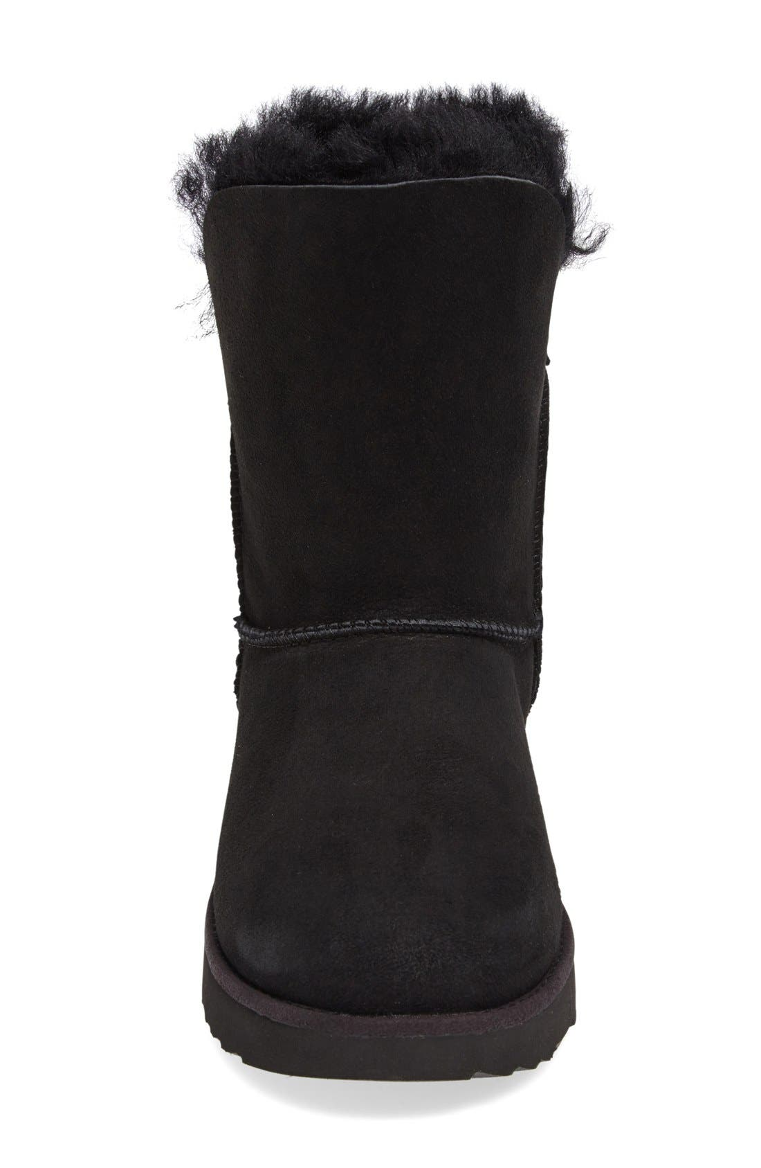 Classic Cuff Short Boot,                             Alternate thumbnail 3, color,                             001
