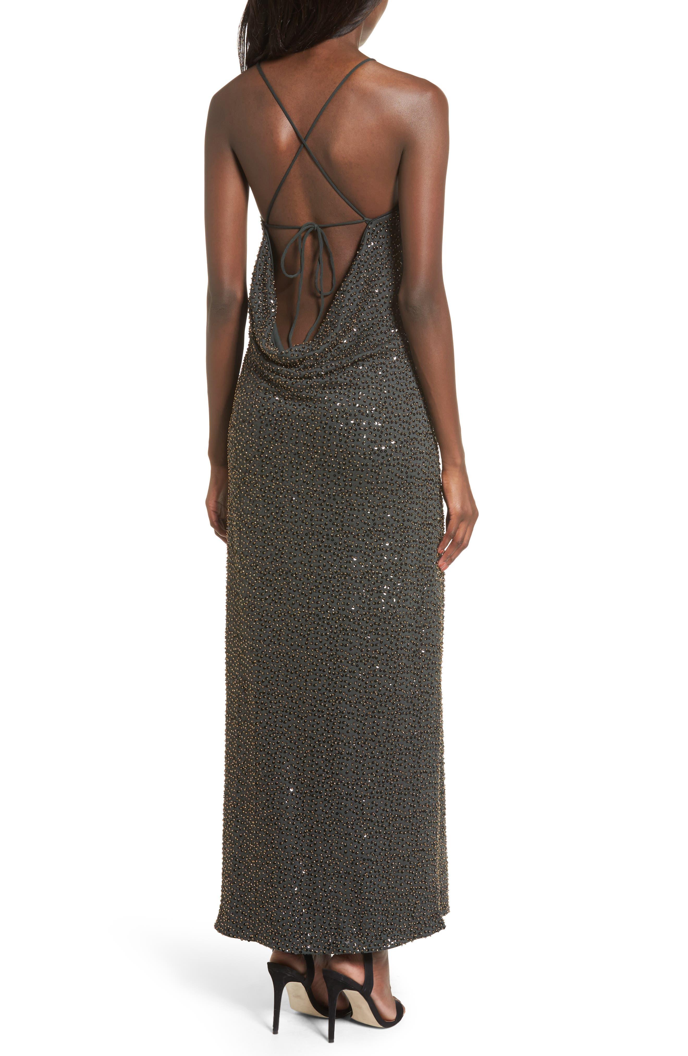 Gracen Maxi Dress,                             Alternate thumbnail 4, color,