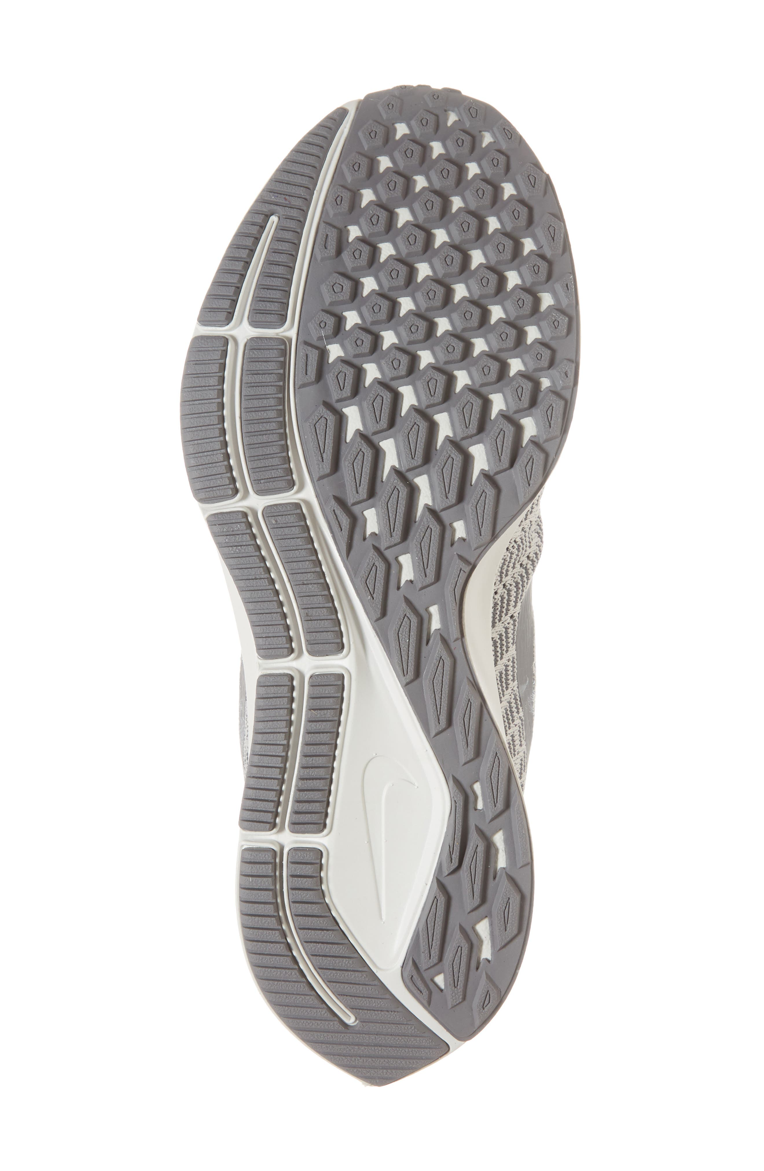 Air Zoom Pegasus 35 Running Shoe,                             Alternate thumbnail 6, color,                             PHANTOM/ GUNSMOKE