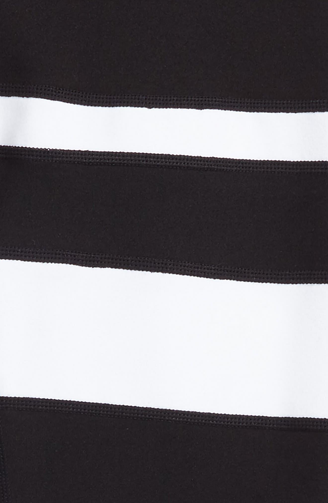Zella Stripe Leggings,                             Alternate thumbnail 2, color,                             001