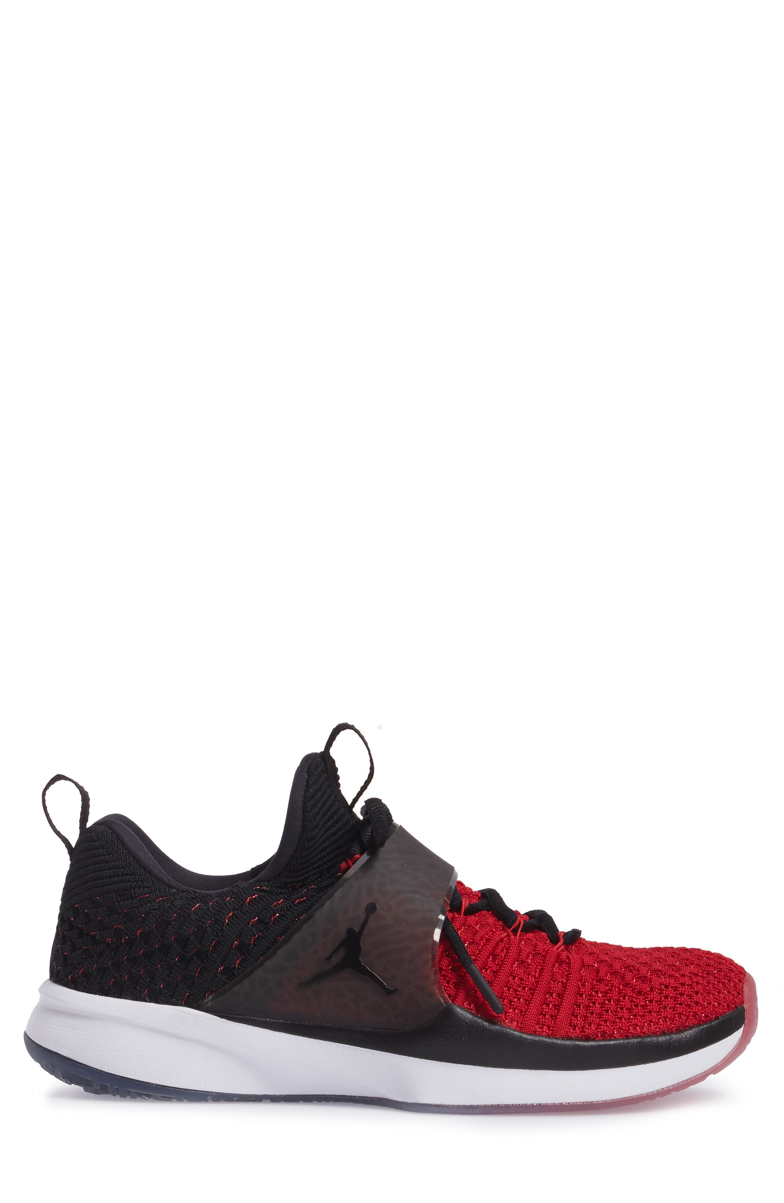 Jordan Flyknit Trainer 2 Low Sneaker,                             Alternate thumbnail 15, color,