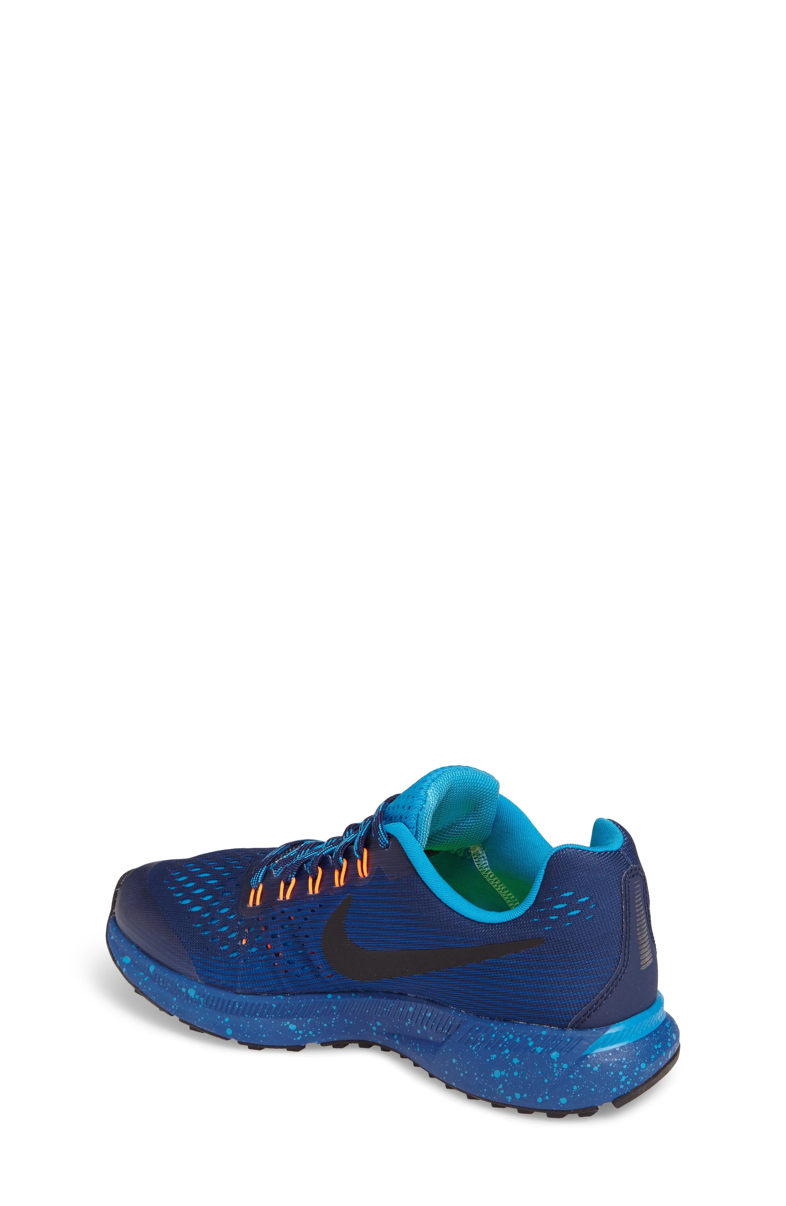 Zoom Pegasus 34 Water Repellent Shield Sneaker,                             Alternate thumbnail 4, color,