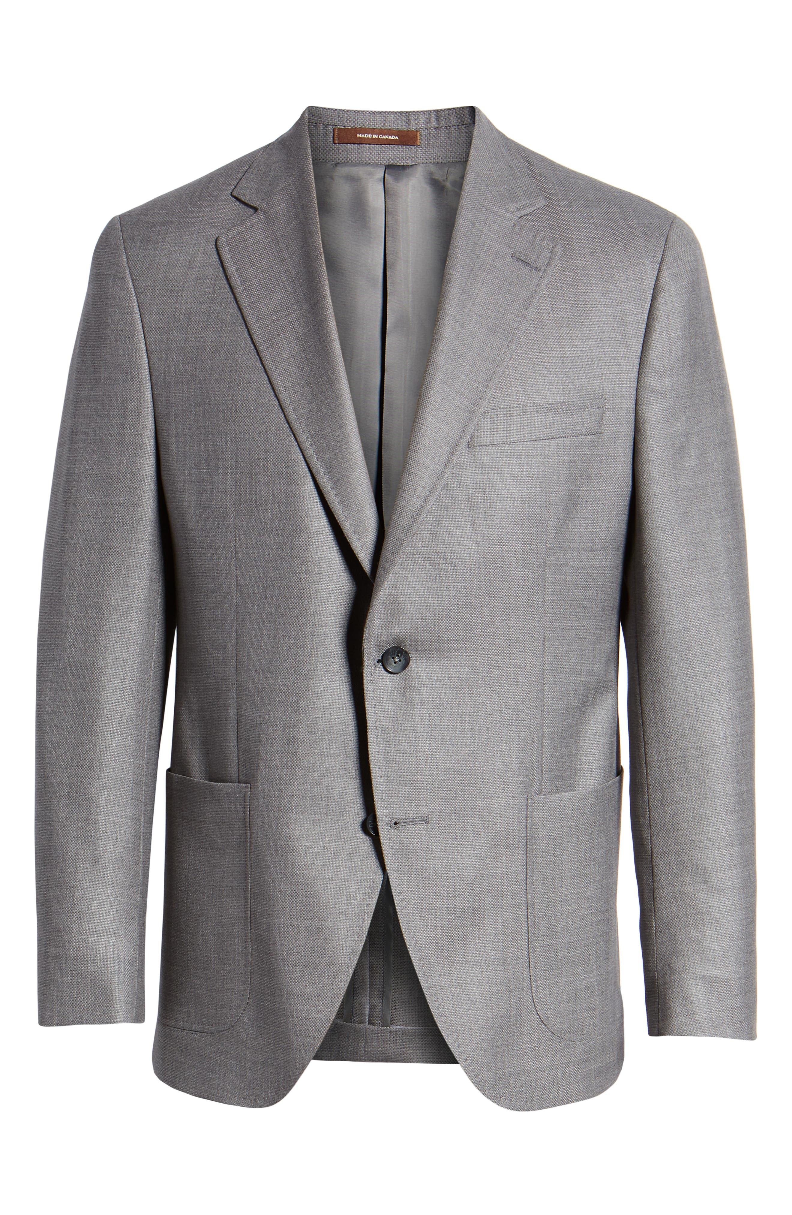 PETER MILLAR,                             Hyperlight Classic Fit Wool Sport Coat,                             Alternate thumbnail 5, color,                             020