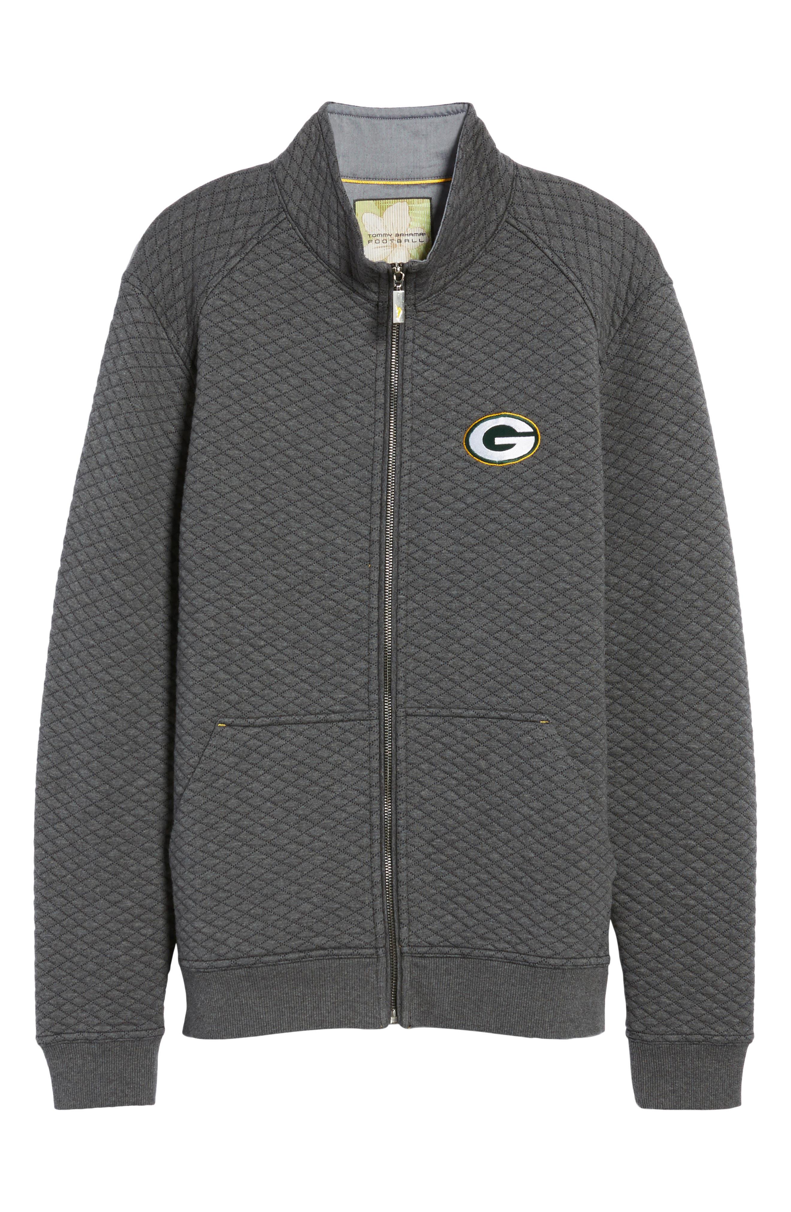 NFL Quiltessential Full Zip Sweatshirt,                             Alternate thumbnail 175, color,